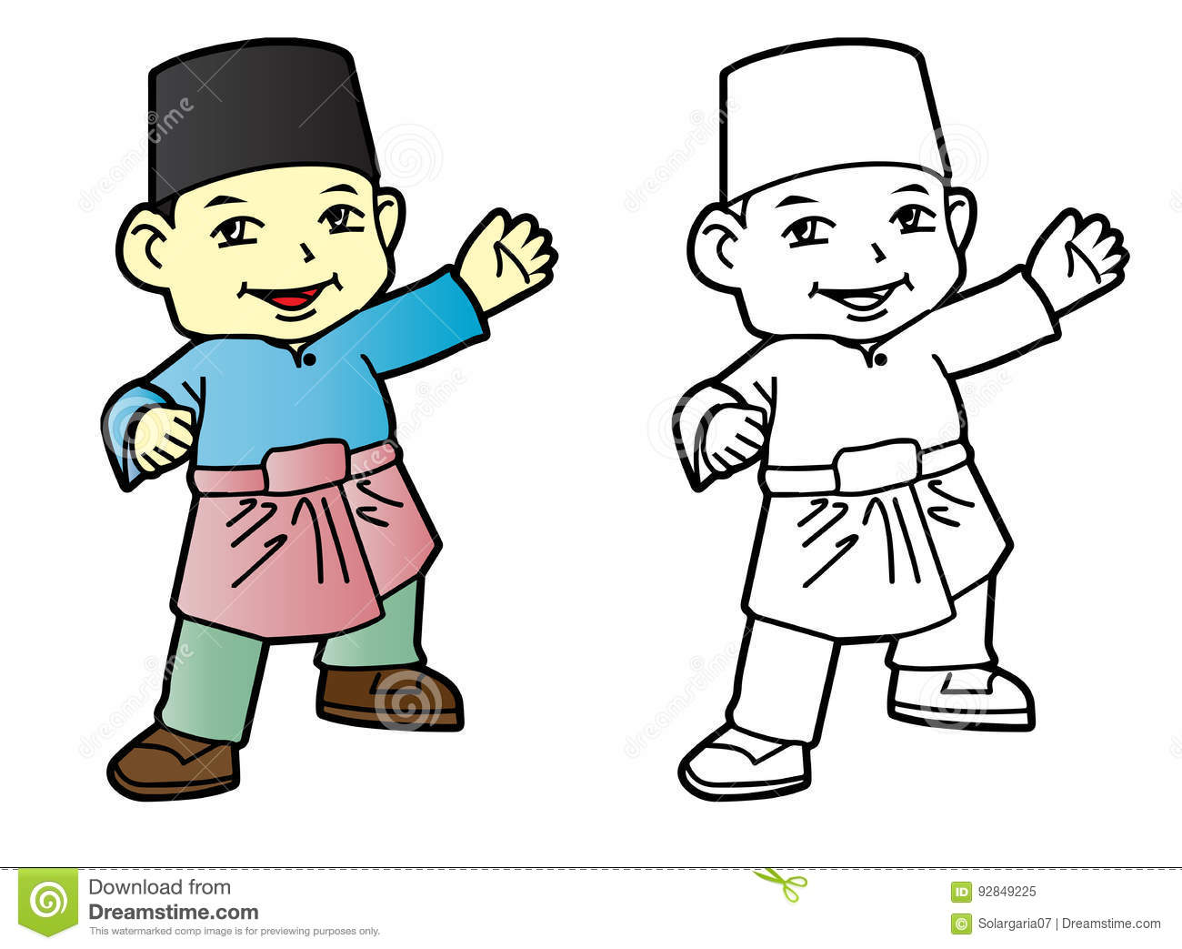 Melayu Cartoons, Illustrations & Vector Stock Images - 315 ...