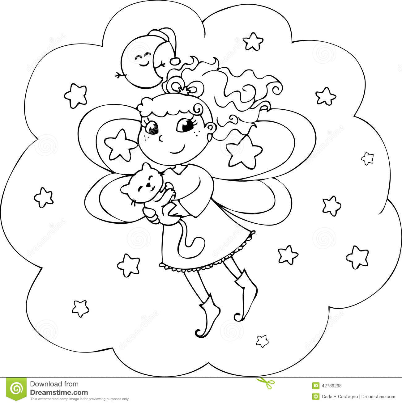 night and day coloring pages - photo#25