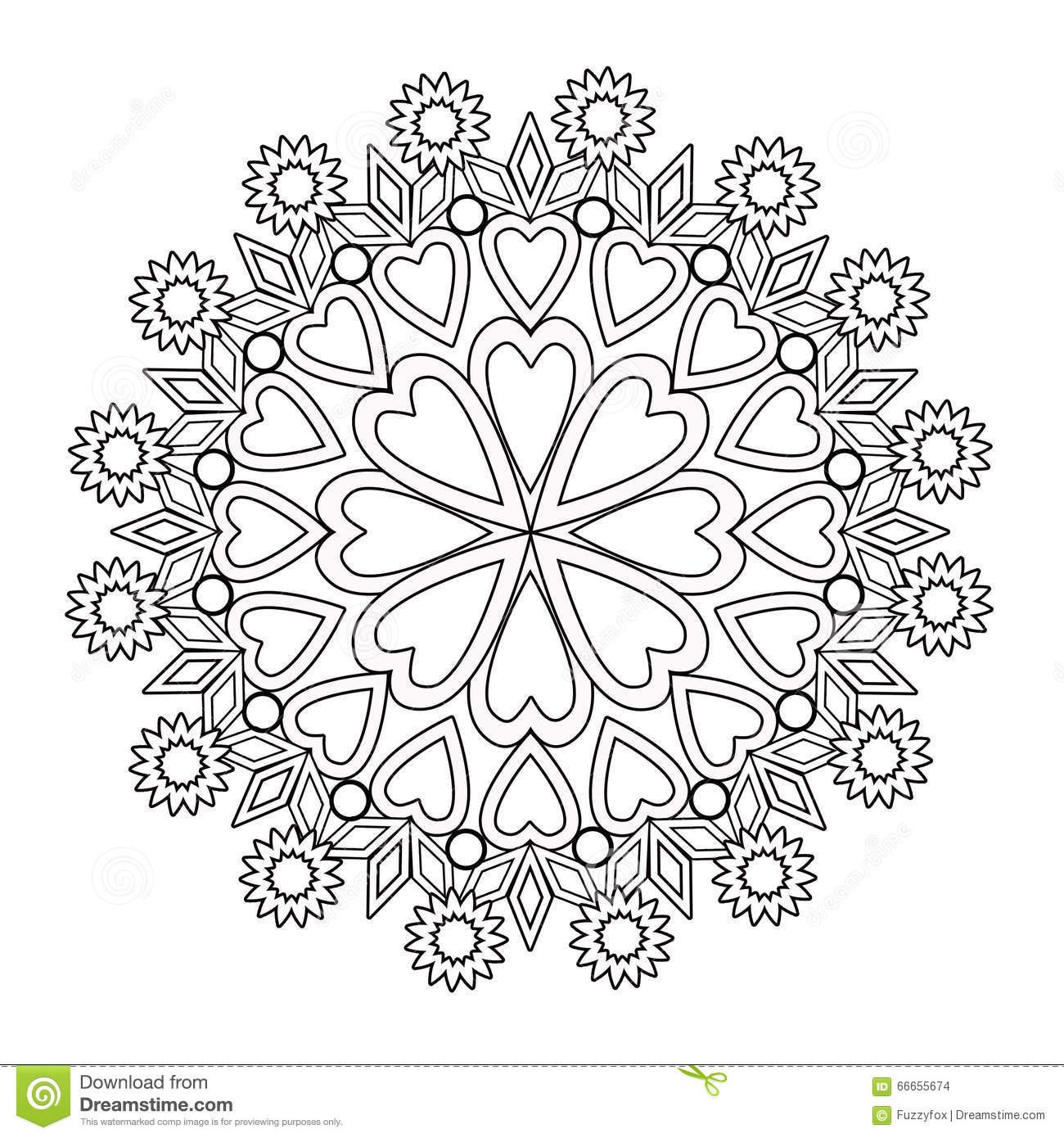 coloring page book floral illustration black and white wi