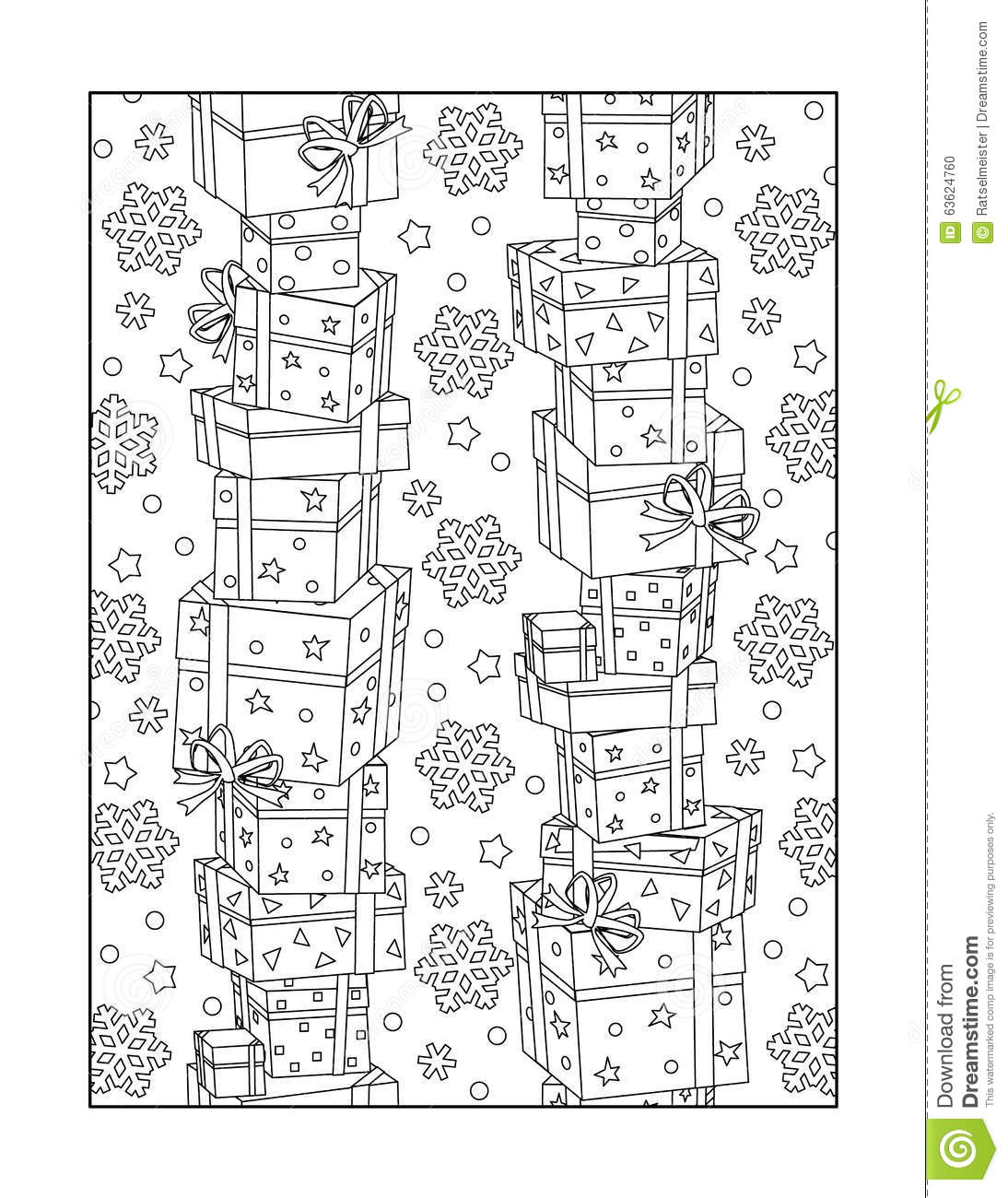 Coloring Page For Adults Or Black