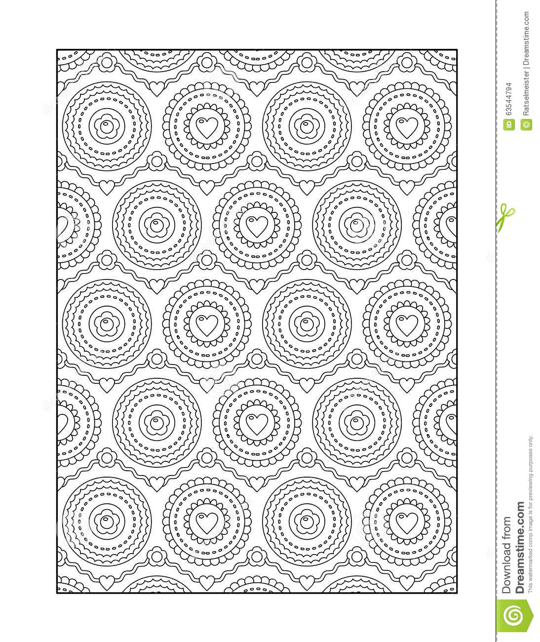 Coloring Pages Background Coloring Pages coloring page for adults or black and white ornamental background background