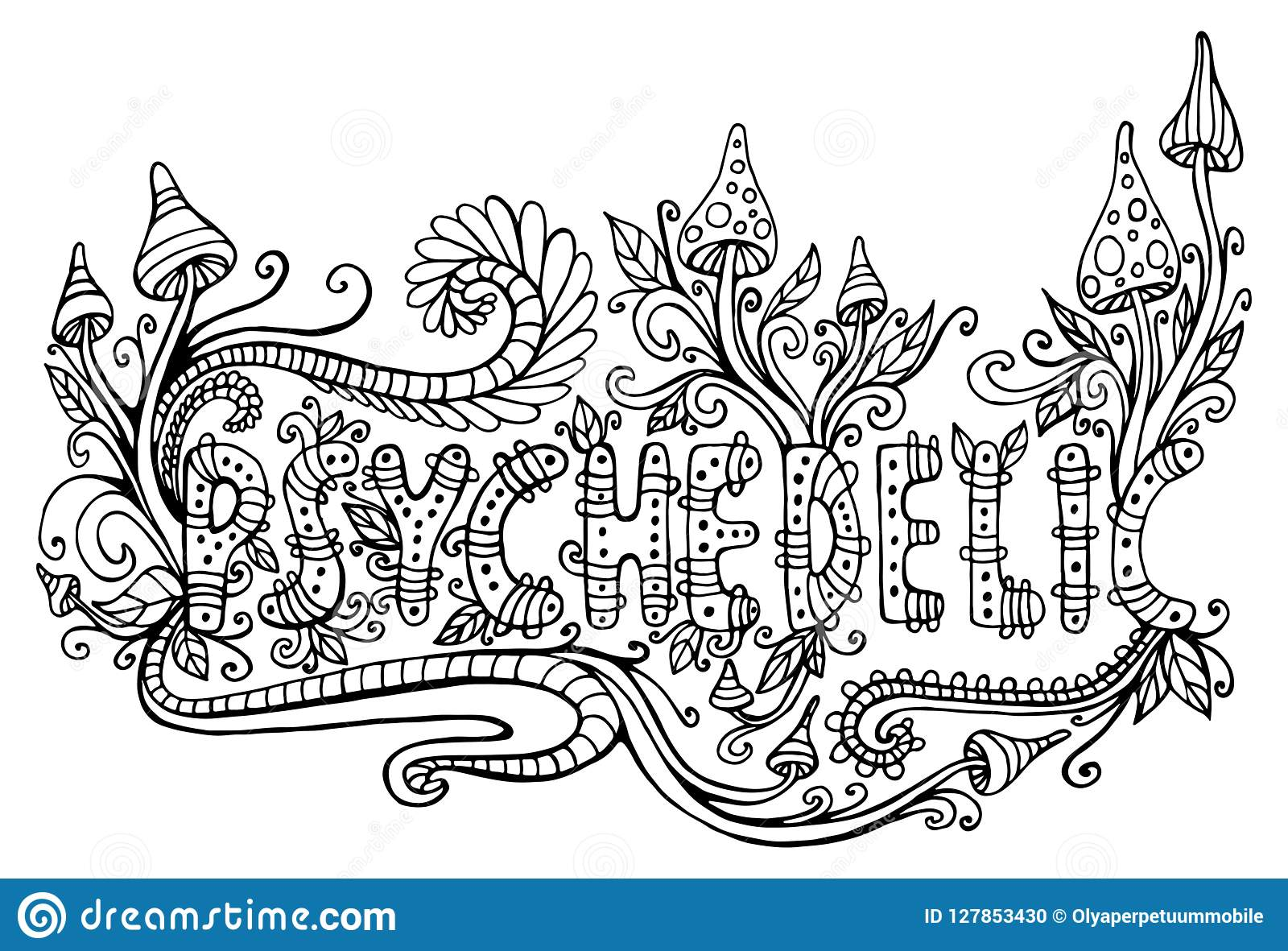 trippy coloring pages free printable Coloring4free - Coloring4Free.com | 1181x1600