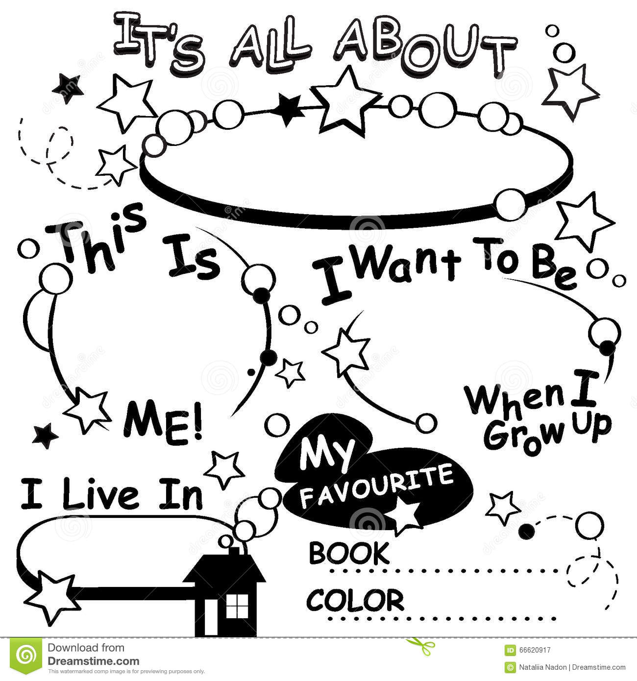 coloring pages all about me coloring pages breadedcat free - First Day Of Preschool Coloring Pages
