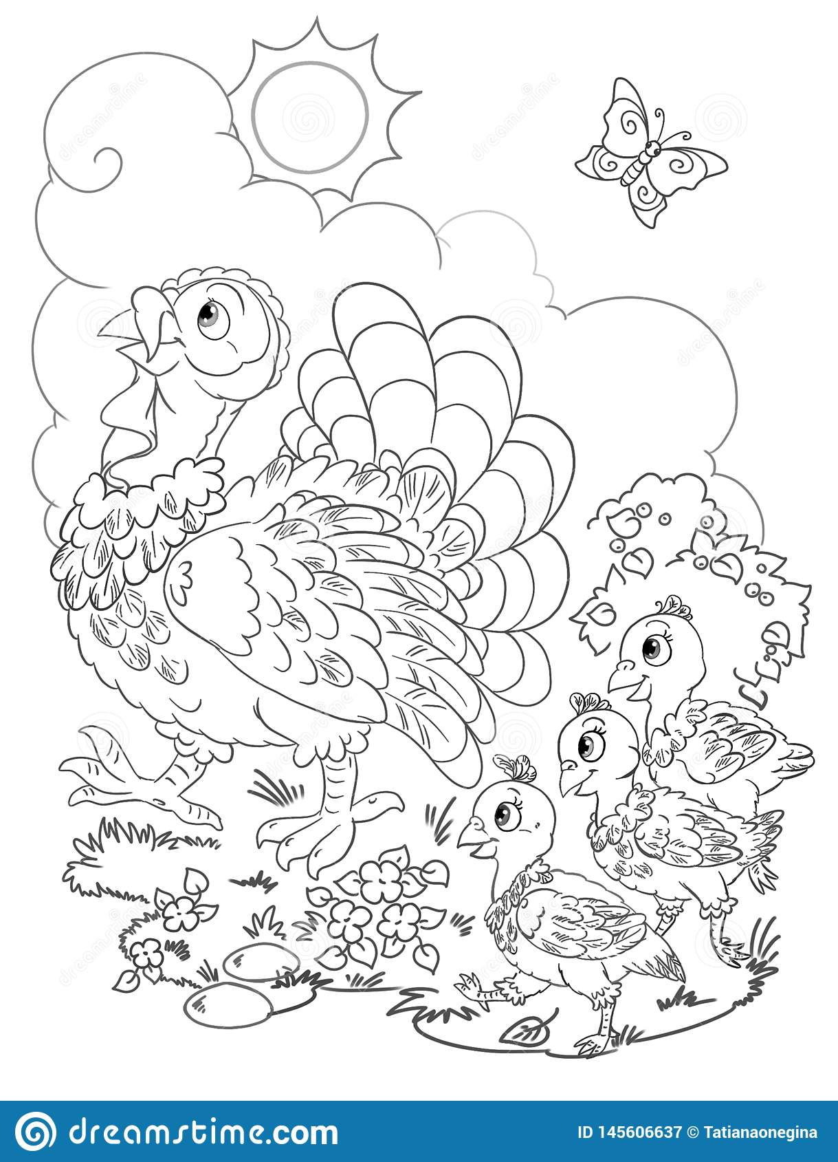 Family color page - Coloring pages for kids - Family, People and ... | 1689x1219