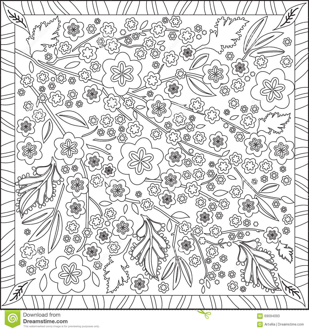blossoms coloring pages - photo#49