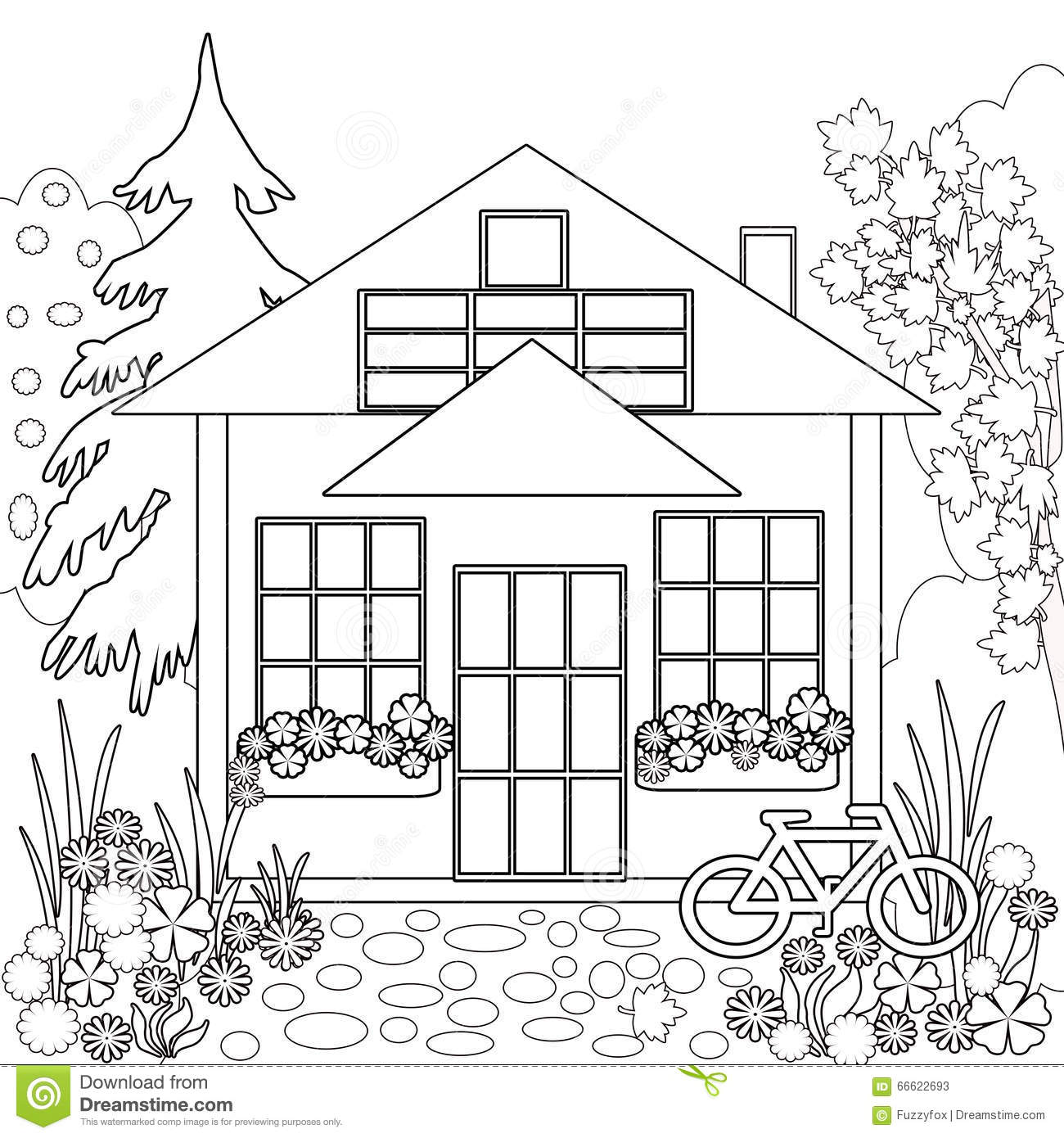 Royalty Free Illustration Download Coloring Page