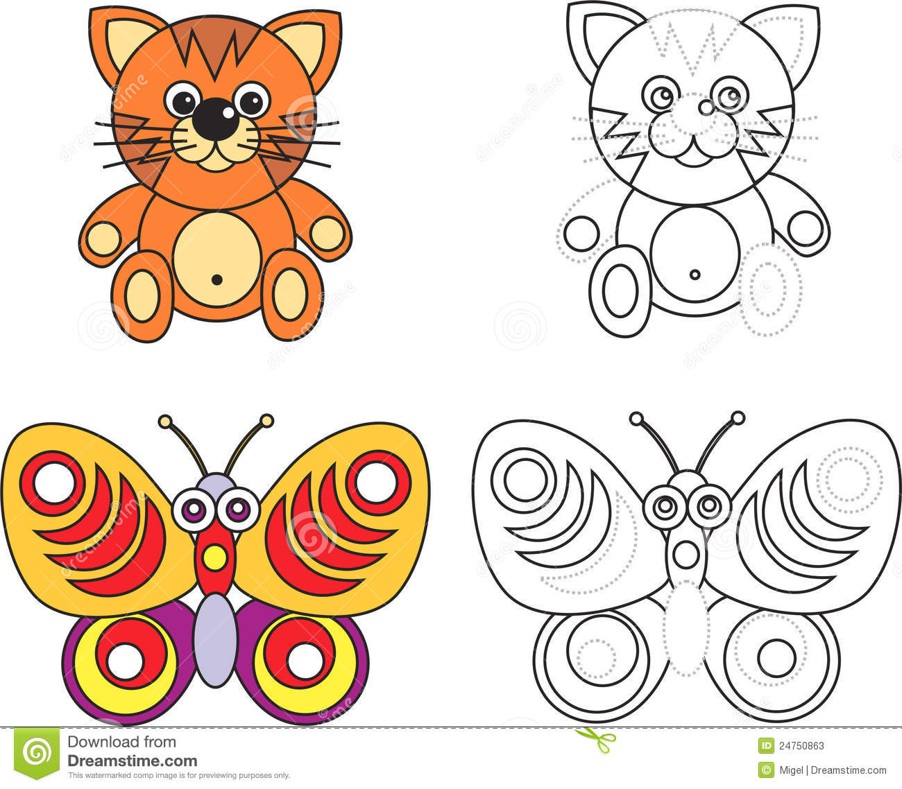 coloring page book for kids - Kids Color Book