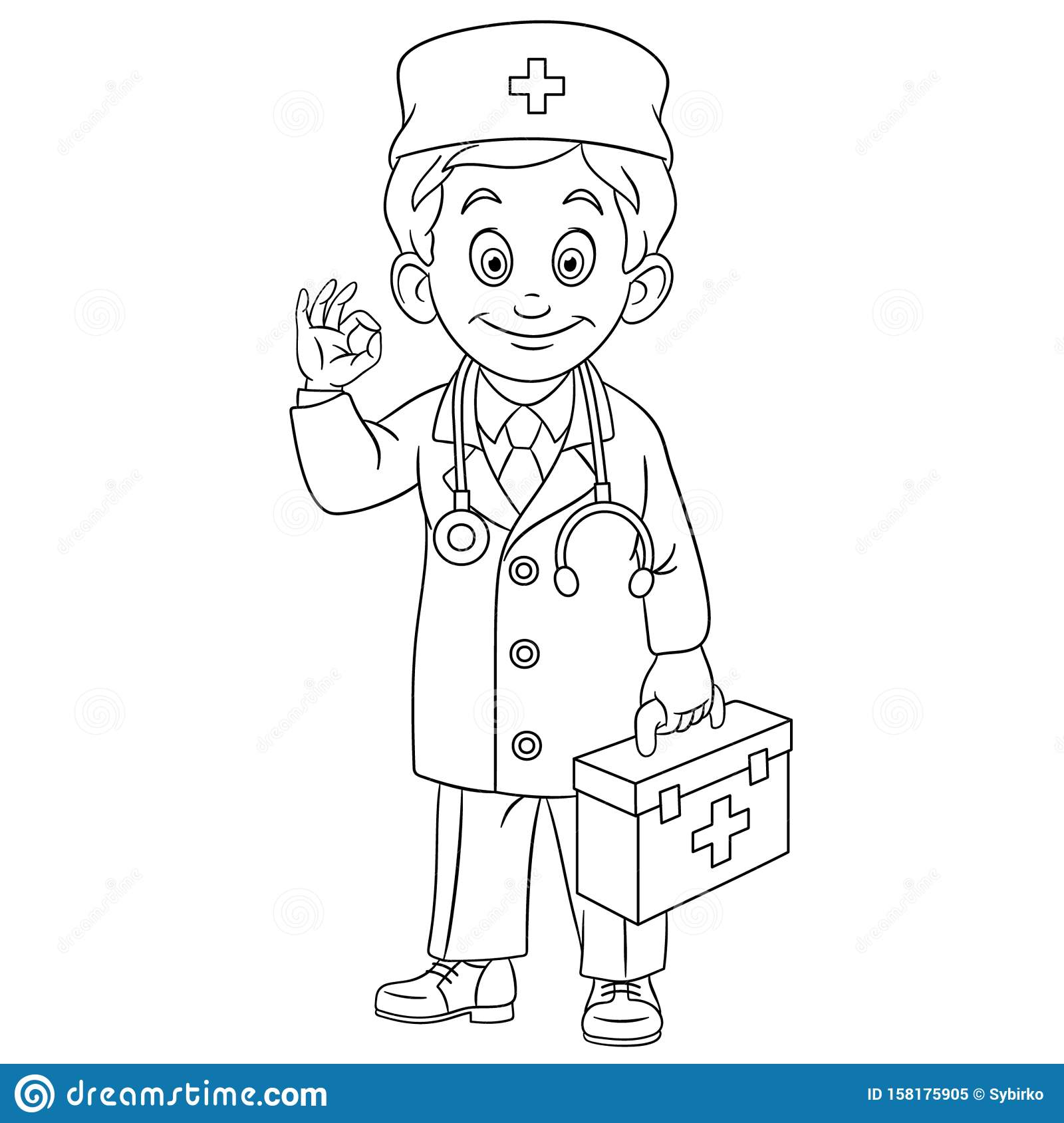 Doctor Coloring Book Equipment Stock Illustrations 51 Doctor Coloring Book Equipment Stock Illustrations Vectors Clipart Dreamstime
