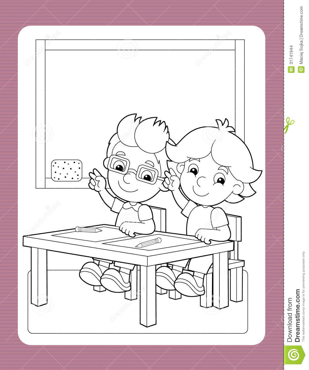 Free coloring pages for exercise - Royalty Free Stock Photo Download The Coloring Page With Exercise