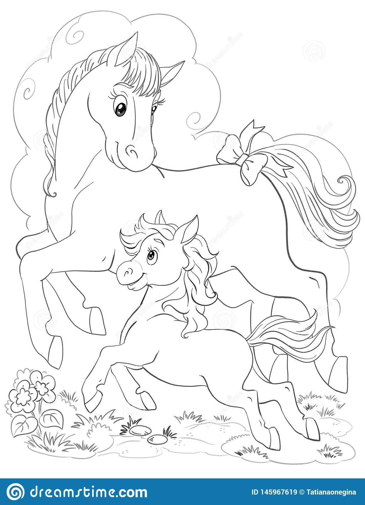 Horse Adult Coloring Pages Images, Stock Photos & Vectors ... | 1689x1219