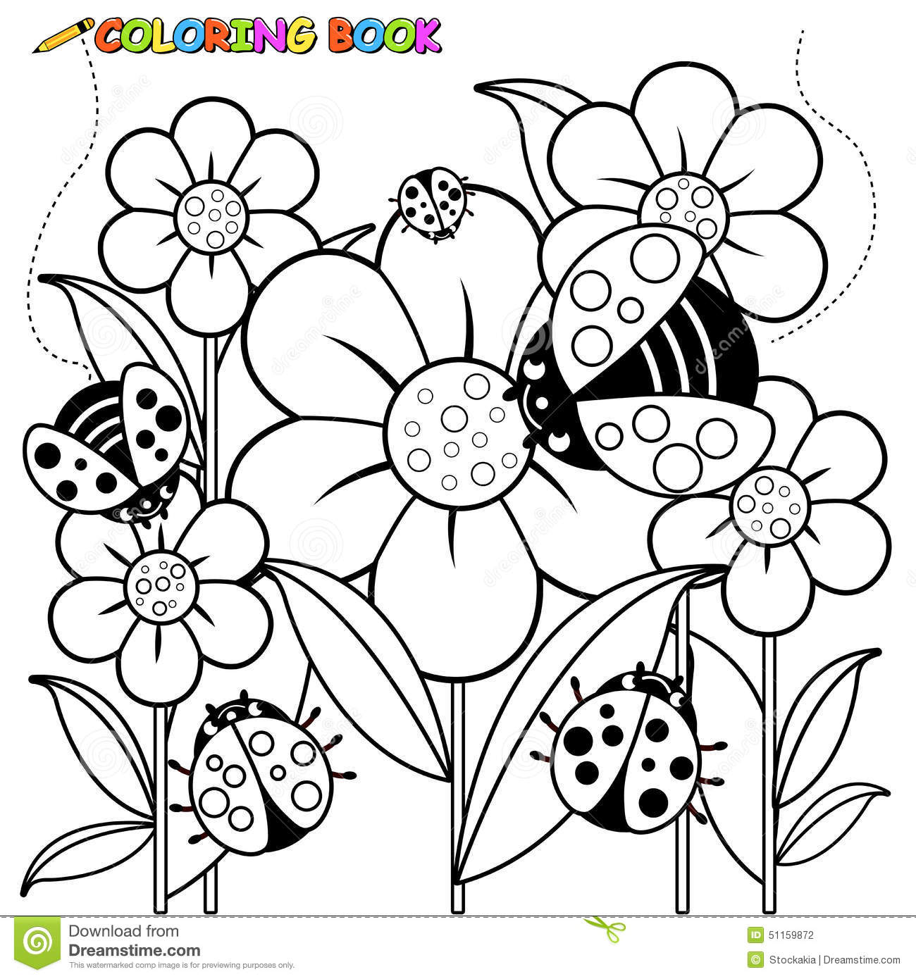 coloring pages of ladybugs contegri com
