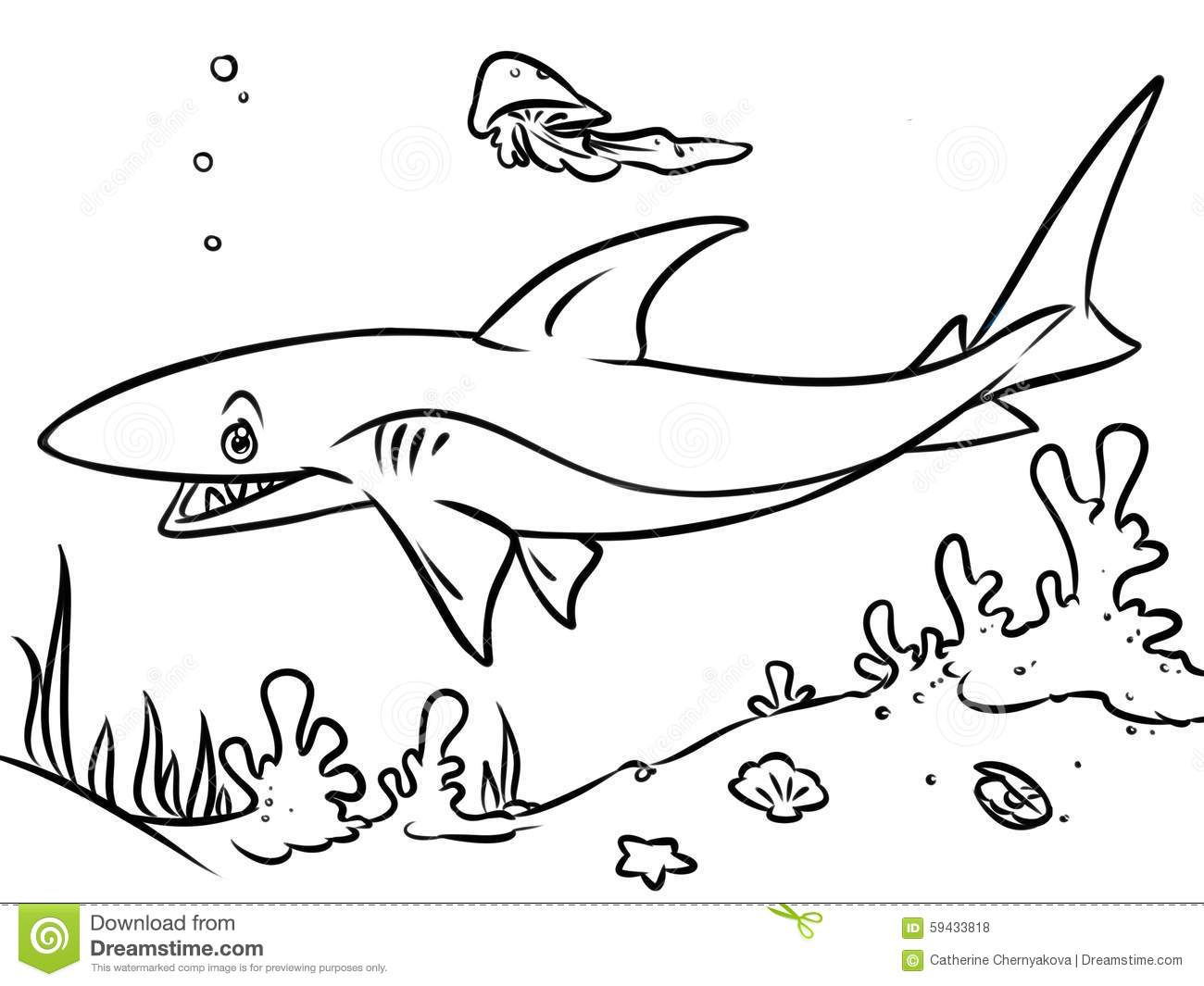 The Bottom Of The Sea Coloring Pages