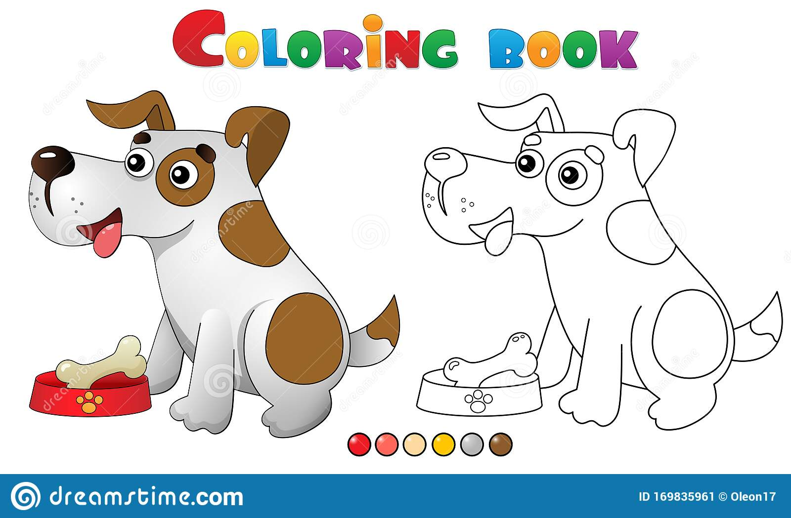Dog to print : Dog & bone - Dogs Kids Coloring Pages   1049x1600