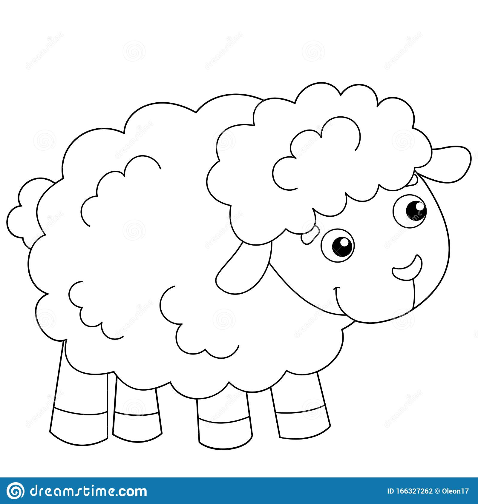 Sheep Colouring Page Stock Illustrations 92 Sheep Colouring Page Stock Illustrations Vectors Clipart Dreamstime