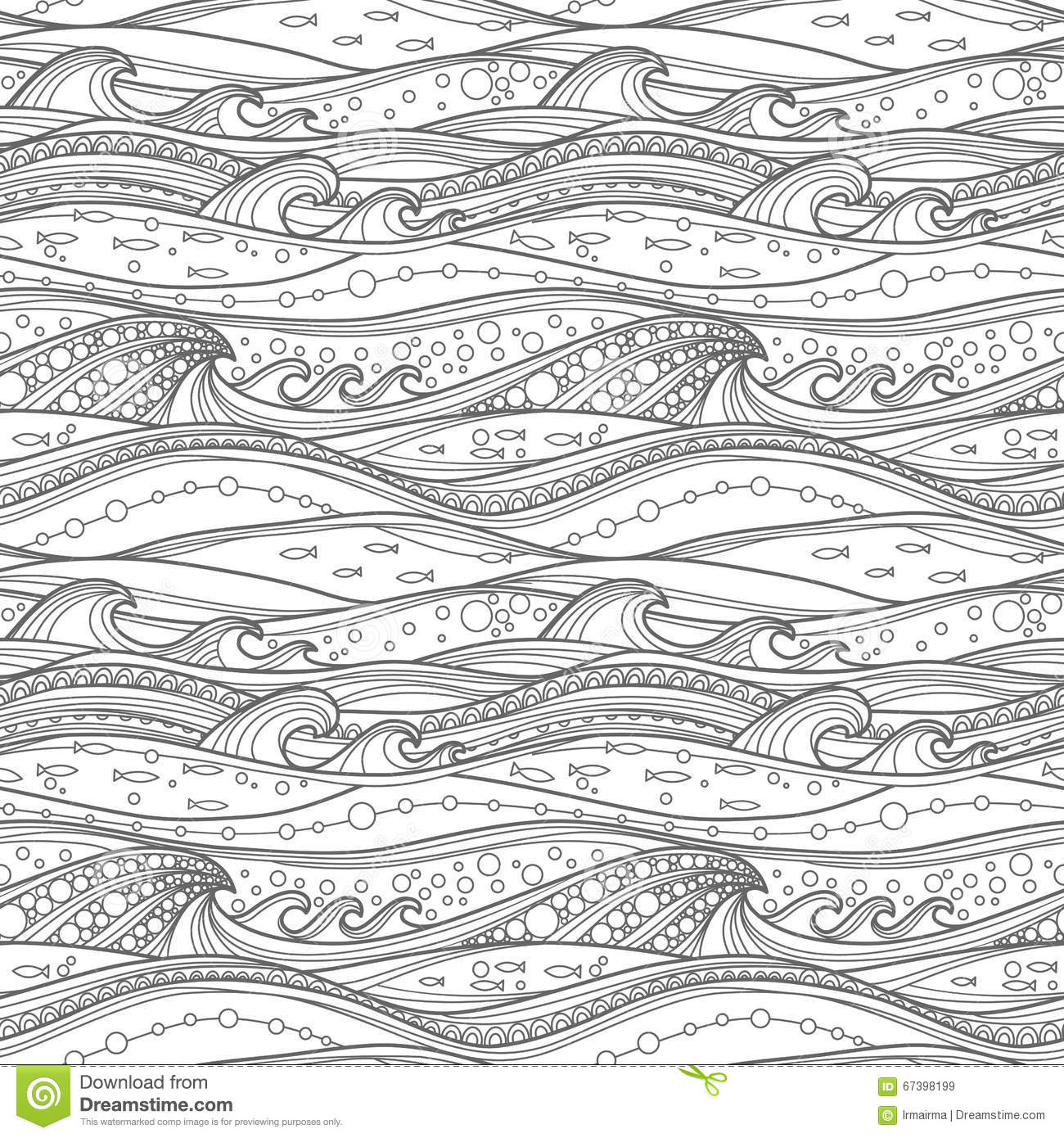 free ocean waves coloring pages - photo#22