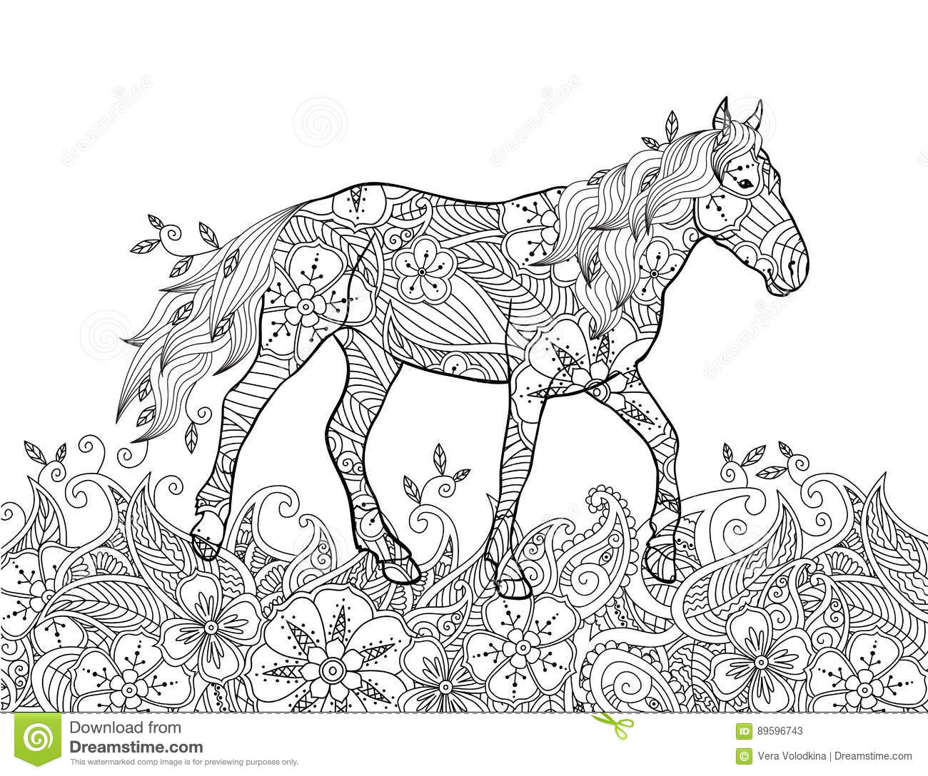 meadow animals coloring pages - photo#43