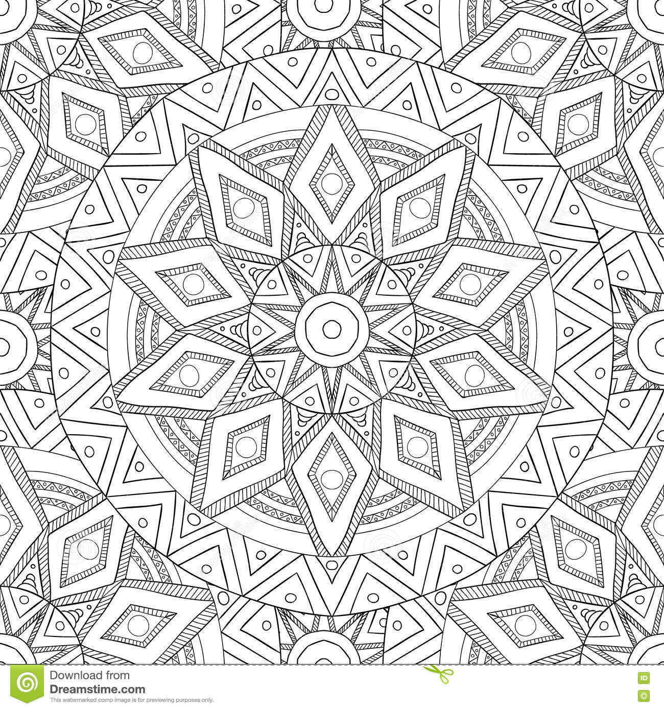 nature coloring pages for adults Coloring Pages For Adults.Decorative Hand Drawn Doodle Nature  nature coloring pages for adults