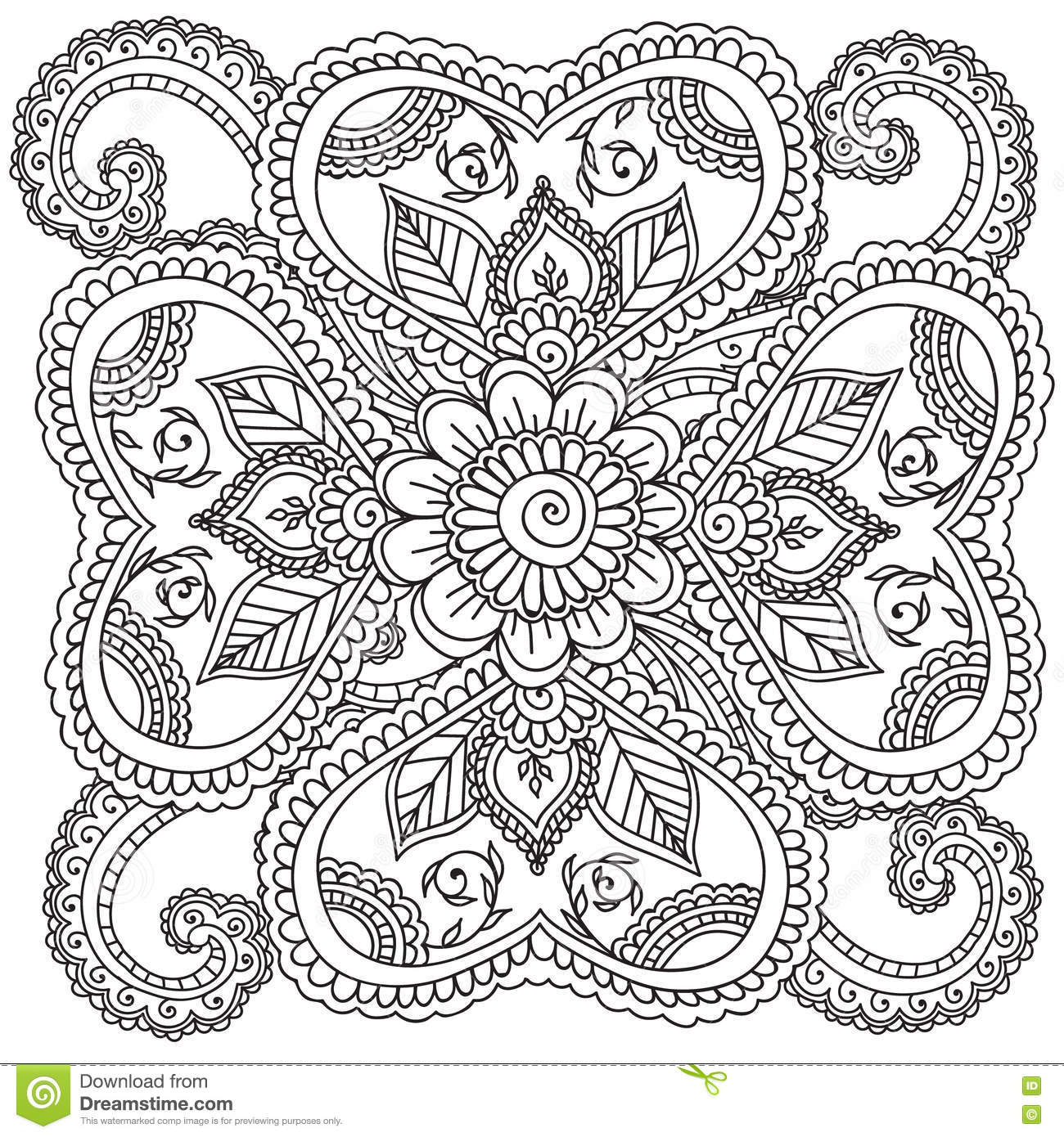 Zen coloring books for adults app - Royalty Free Vector Download Coloring Pages For Adults