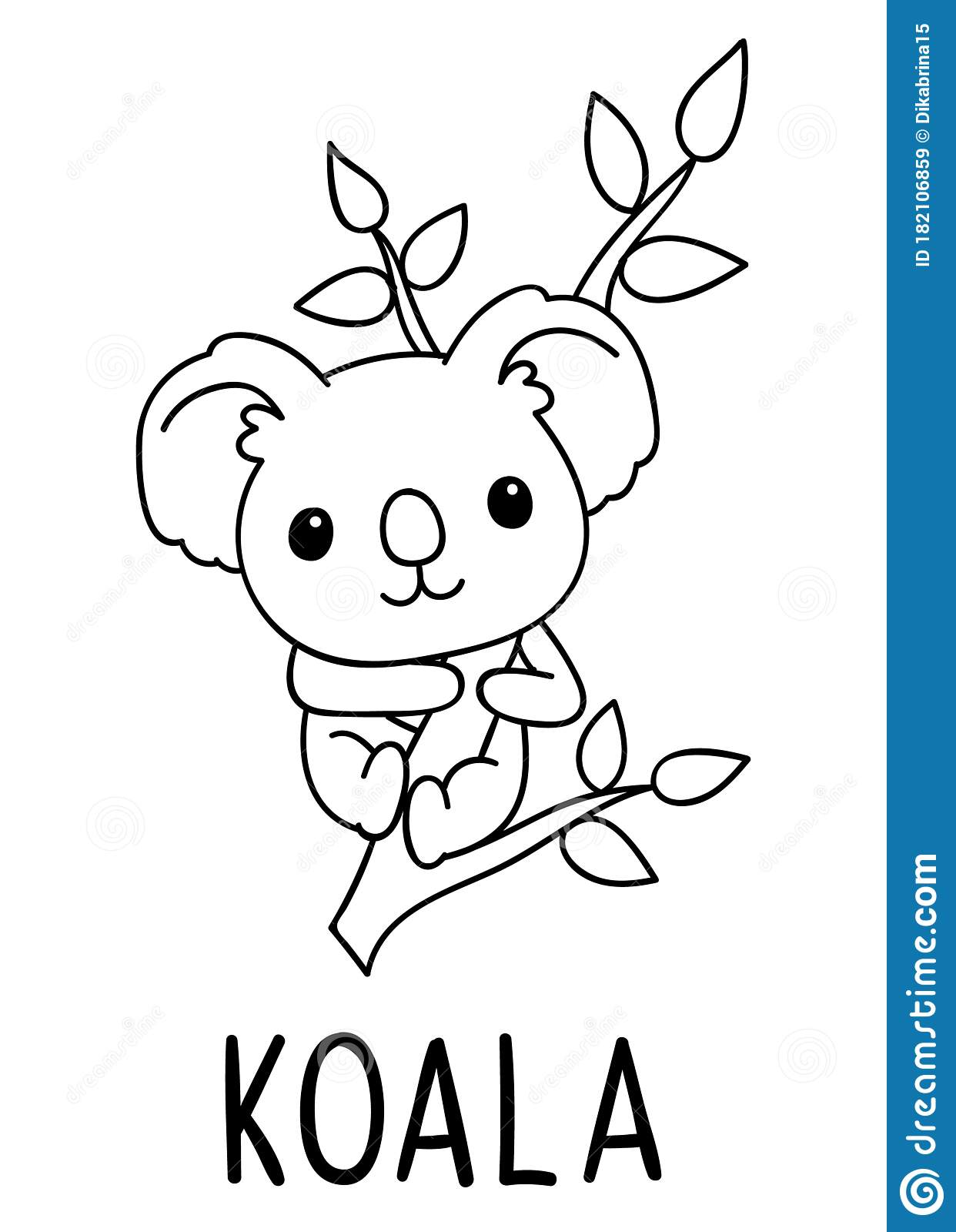 Coloring Pages, Black And White Cute Kawaii Hand Drawn ...