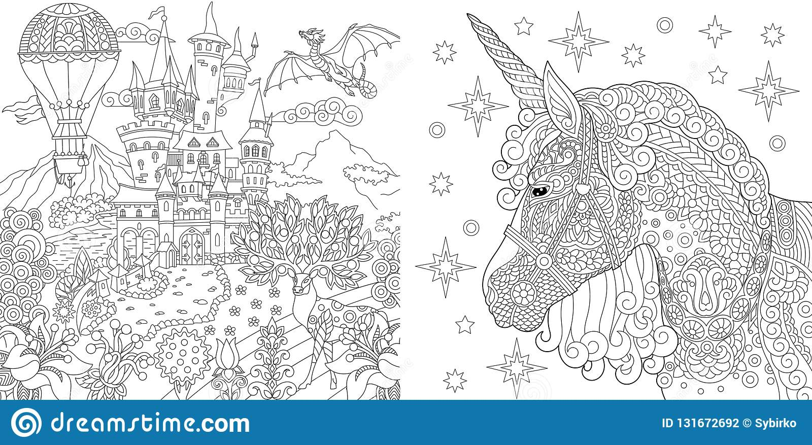 Colouring Cartoons Illustrations Amp Vector Stock Images