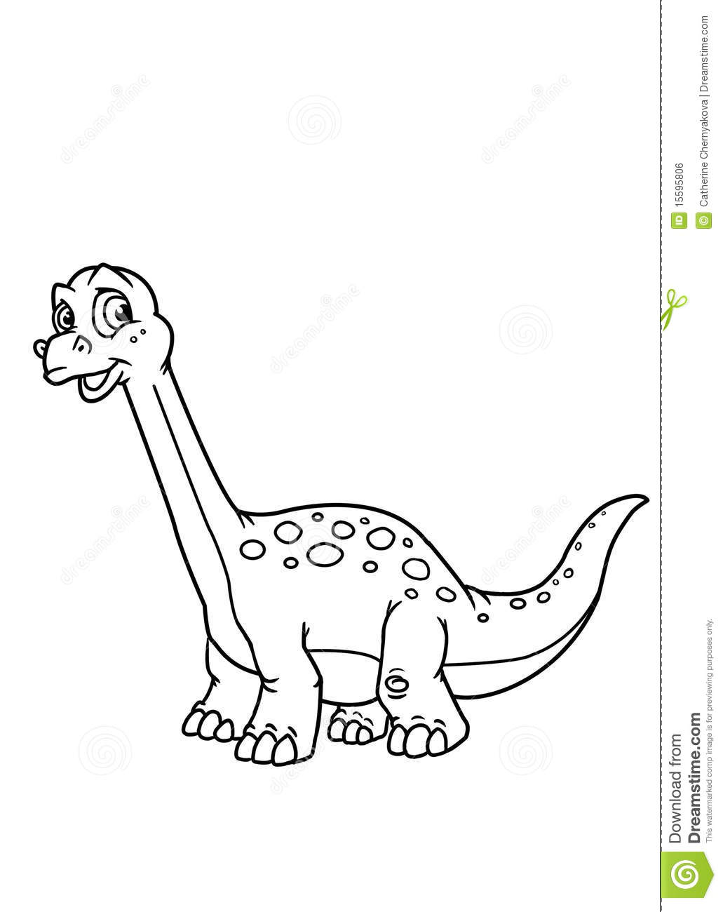 coloring pages dinosaur royalty free stock image image 15595806