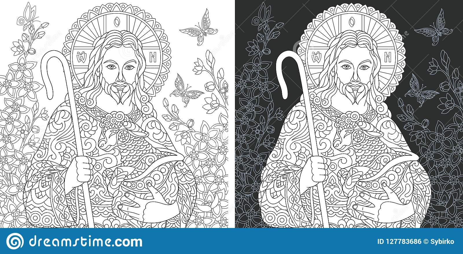 Free Jesus Coloring Book, Download Free Clip Art, Free Clip Art on ... | 878x1600