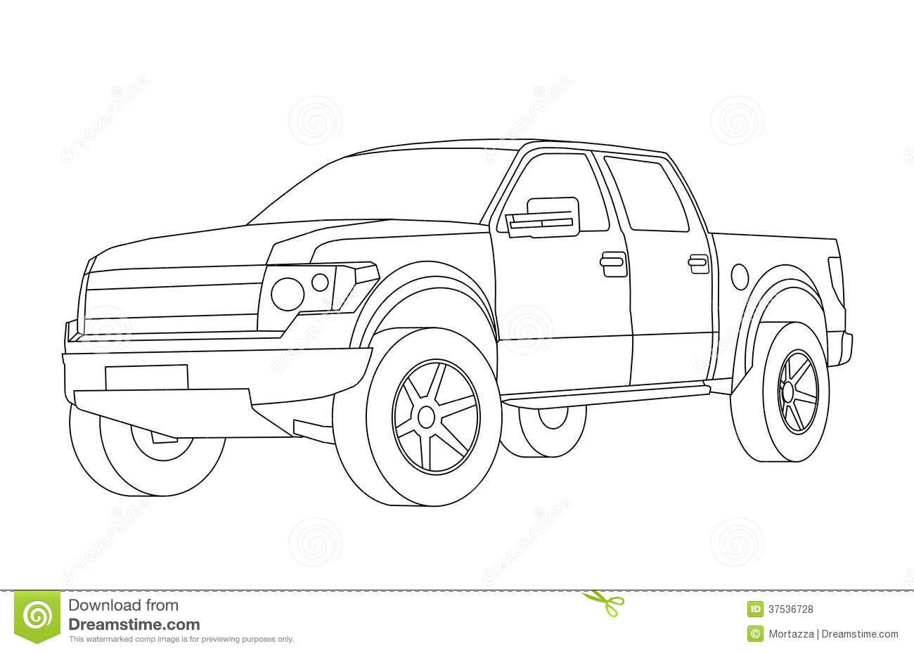 coloring pages for kids cars stock illustration