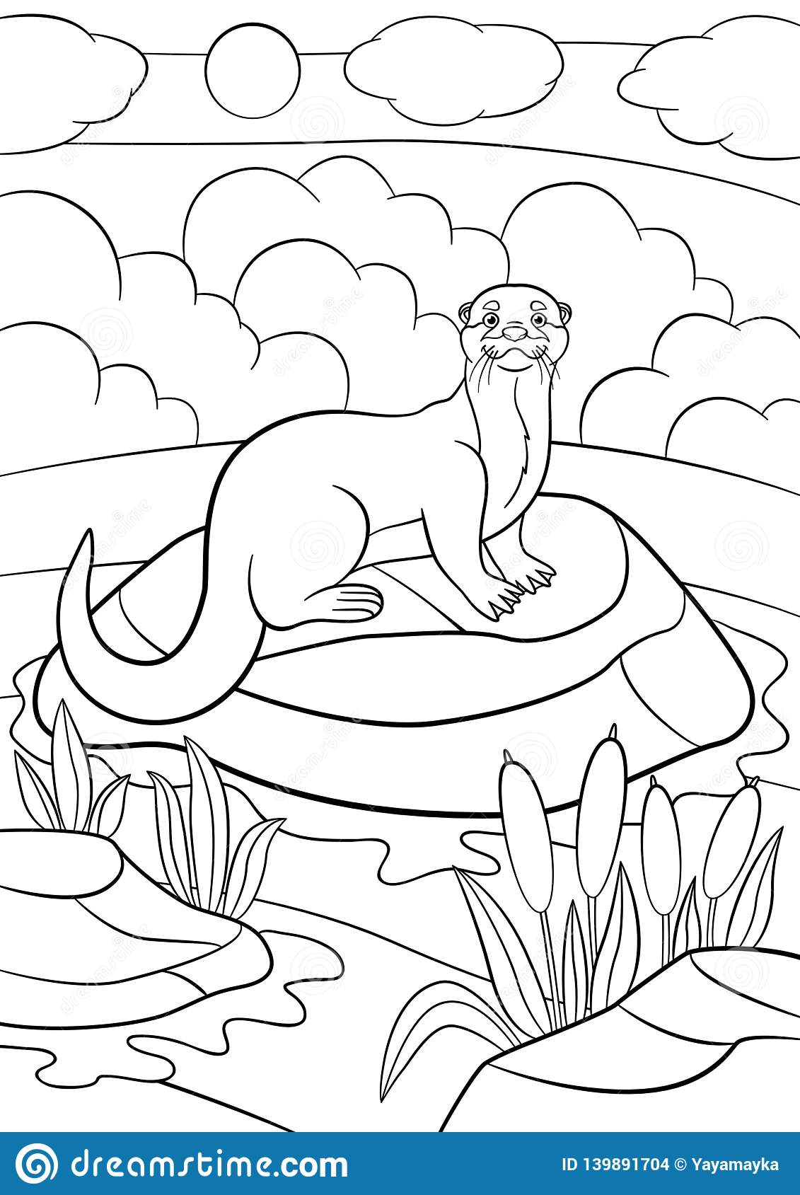 10 Best Pond River And Lake Coloring Pages for Kids - Updated 2018 | 1689x1131