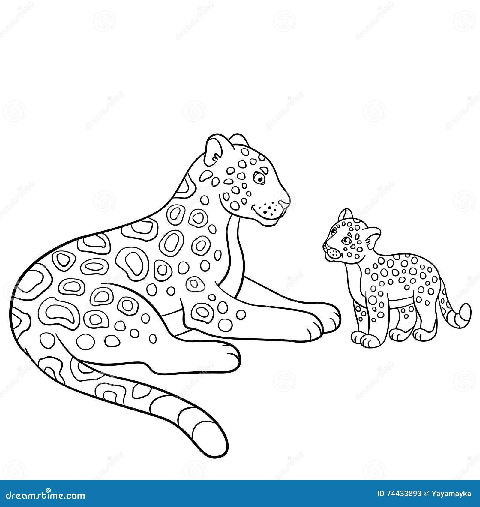 Cute Jaguar coloring page | Free Printable Coloring Pages | 1390x1300