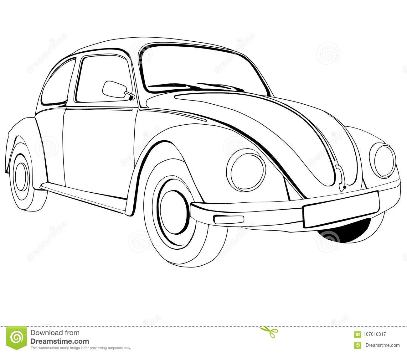 volkswagen cartoons  illustrations  u0026 vector stock images