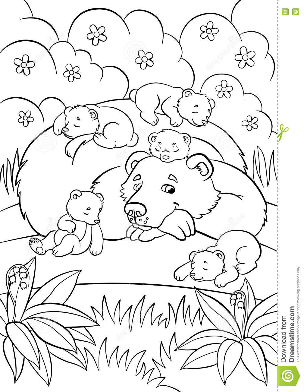 Bab cartoons illustrations vector stock images 31 Crazy animals coloring book