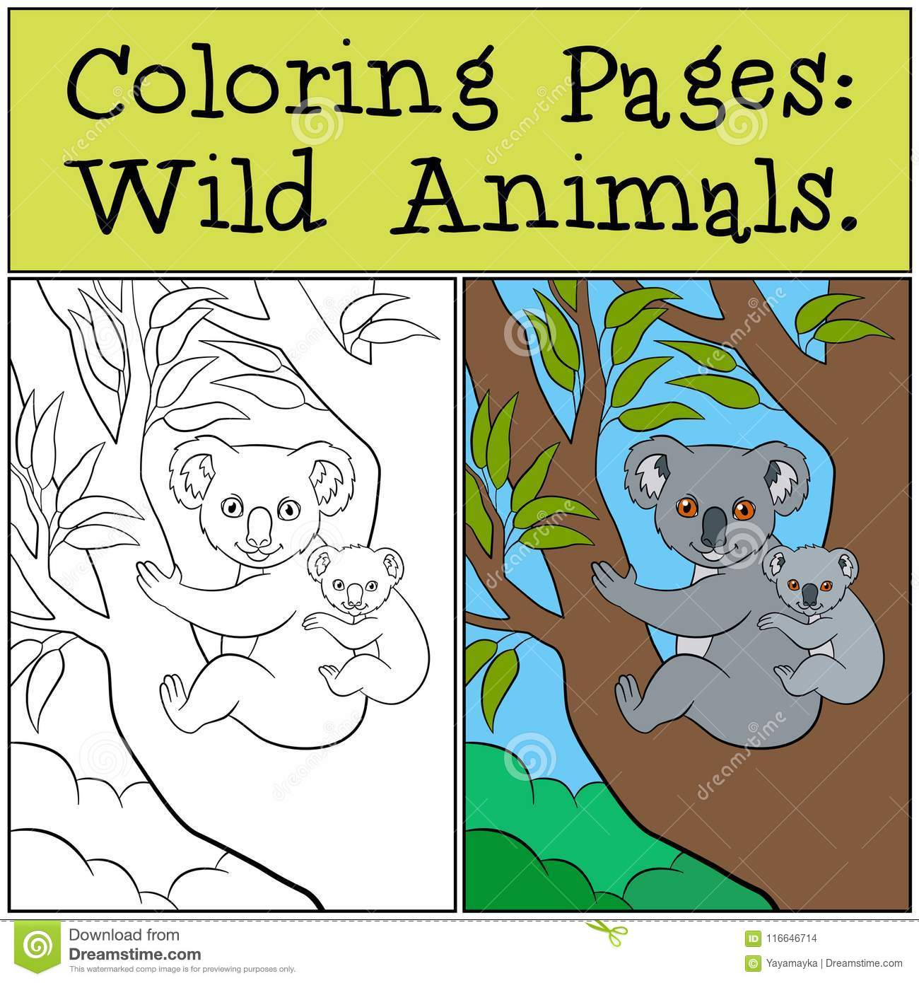 Free Coloring Page African Animals, Download Free Clip Art, Free ... | 1390x1300