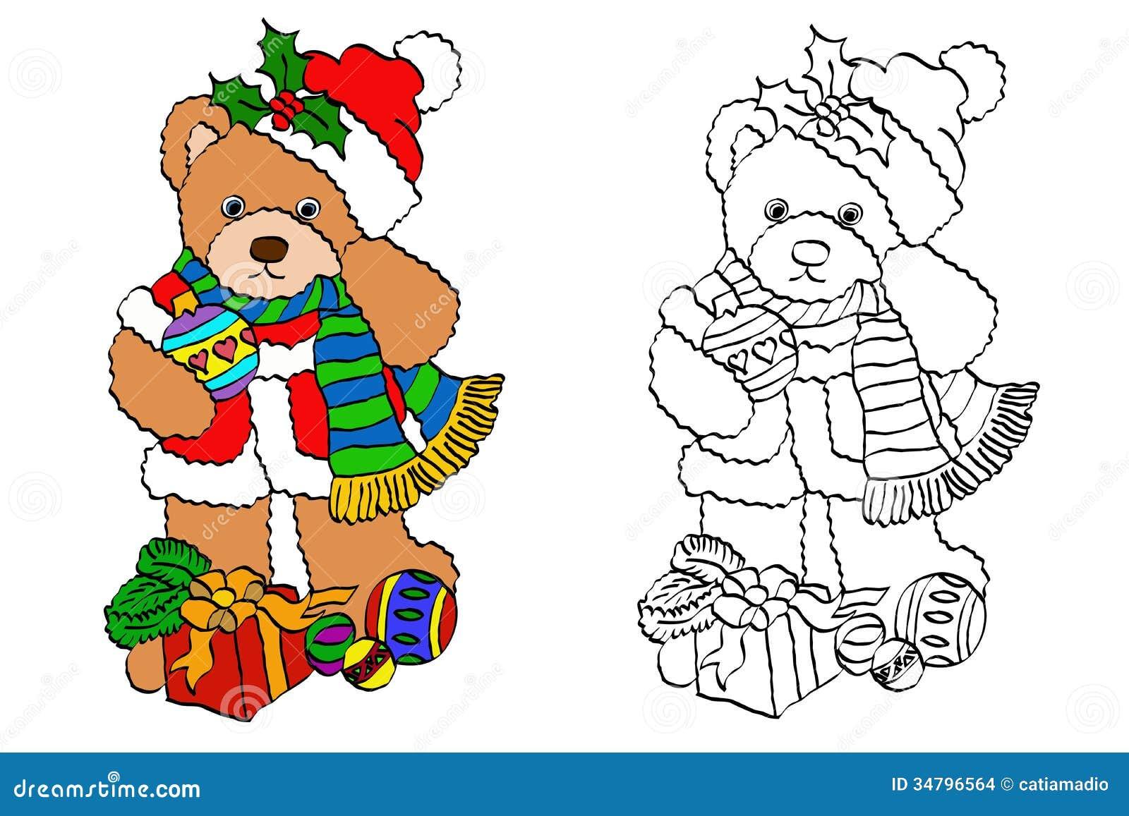 Teddy Bear Christmas Decorations