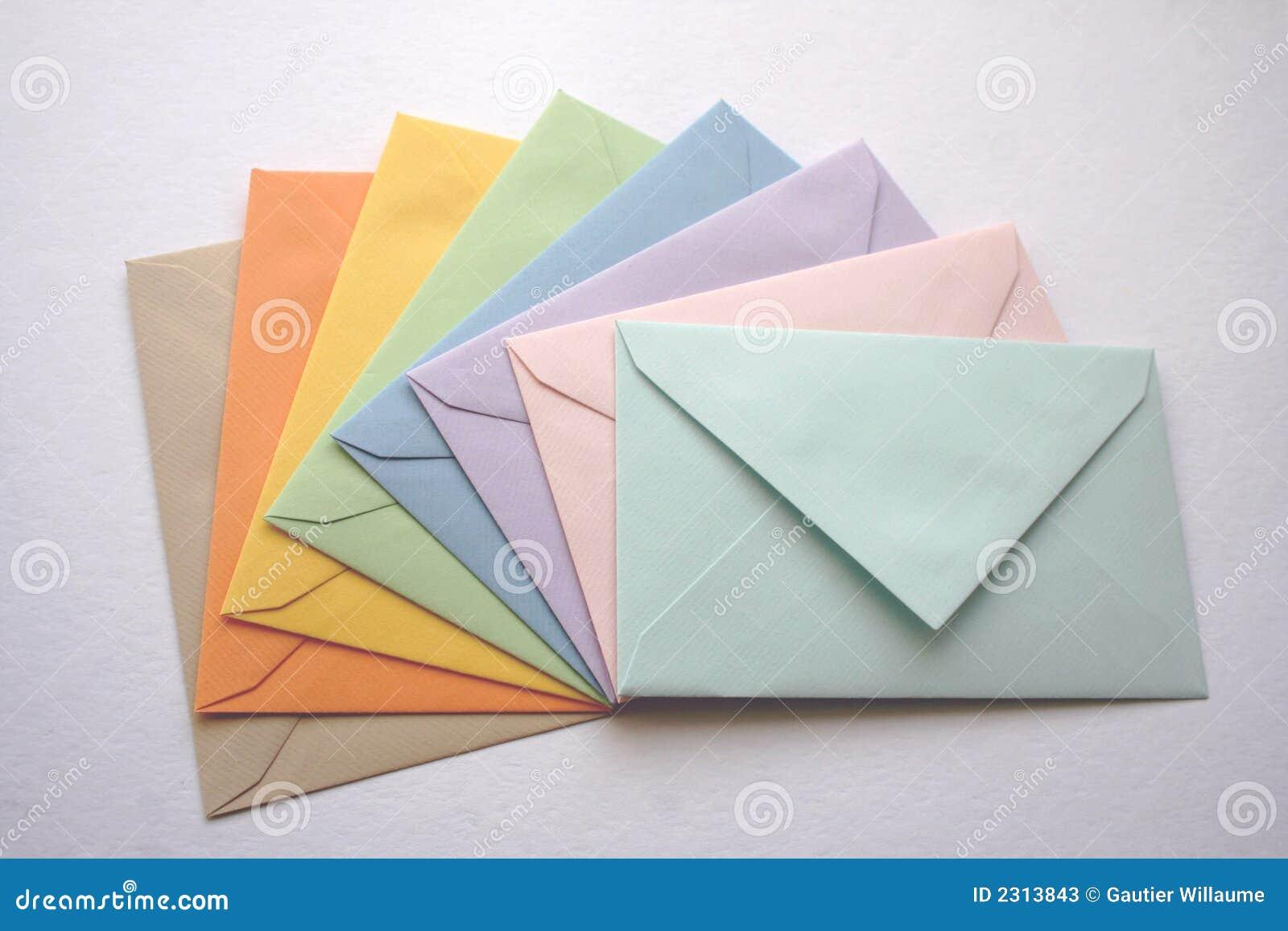 Coloroful φάκελοι