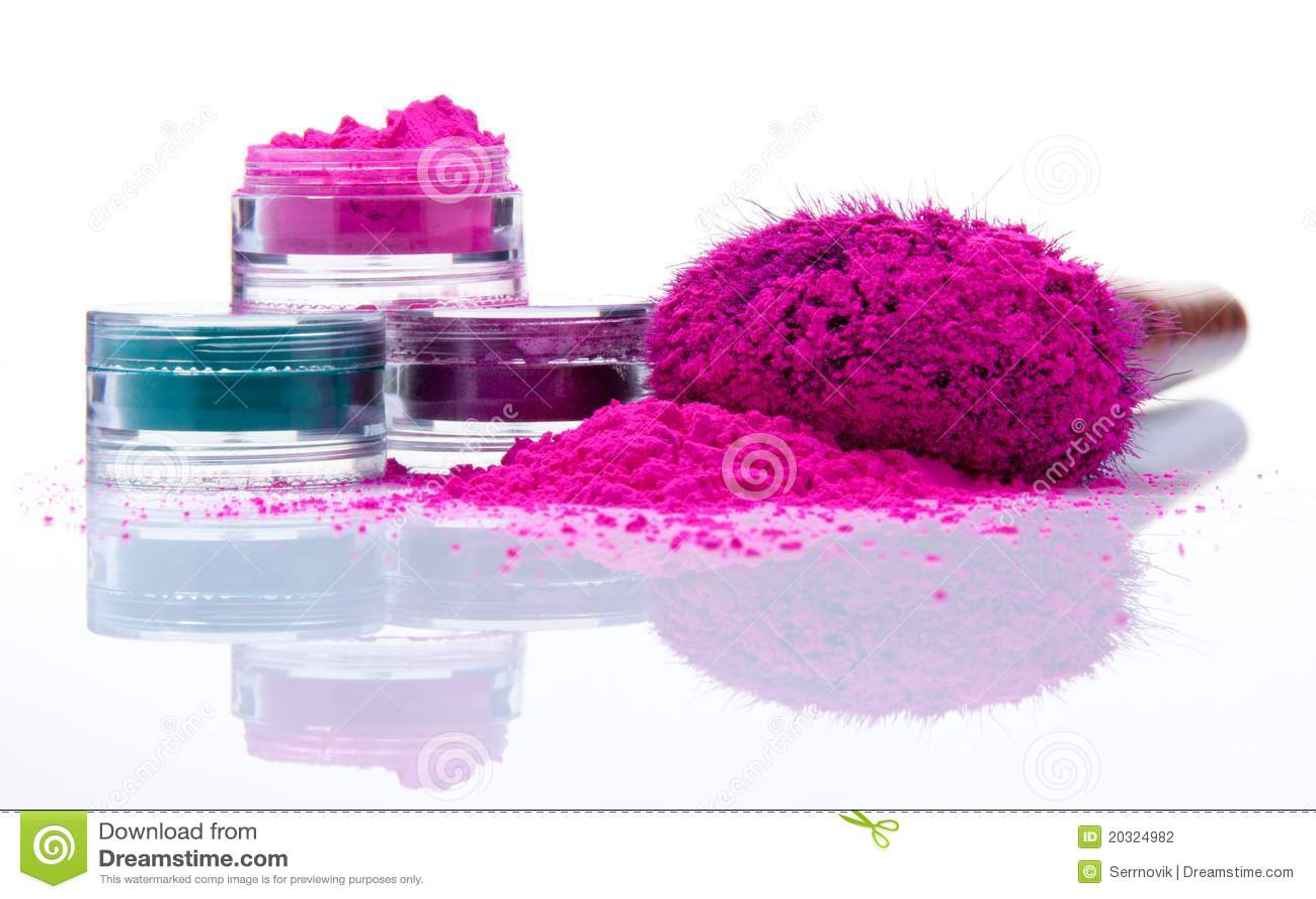 Colors olikt makeuppulver