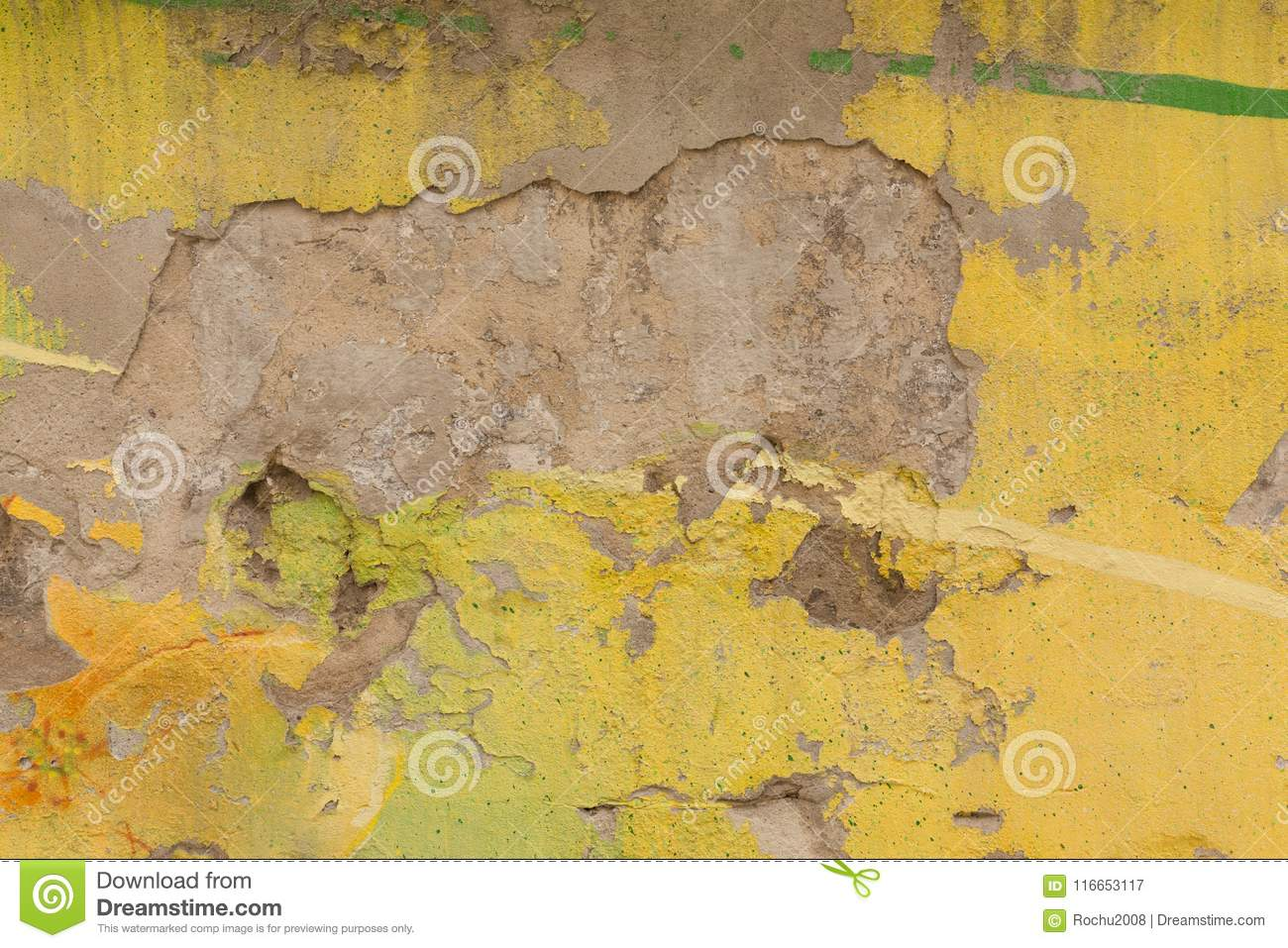 Colors On The Wall / Background Stock Image - Image of color ...