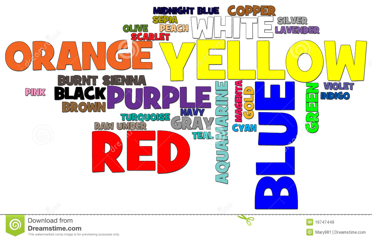 how to put color in word
