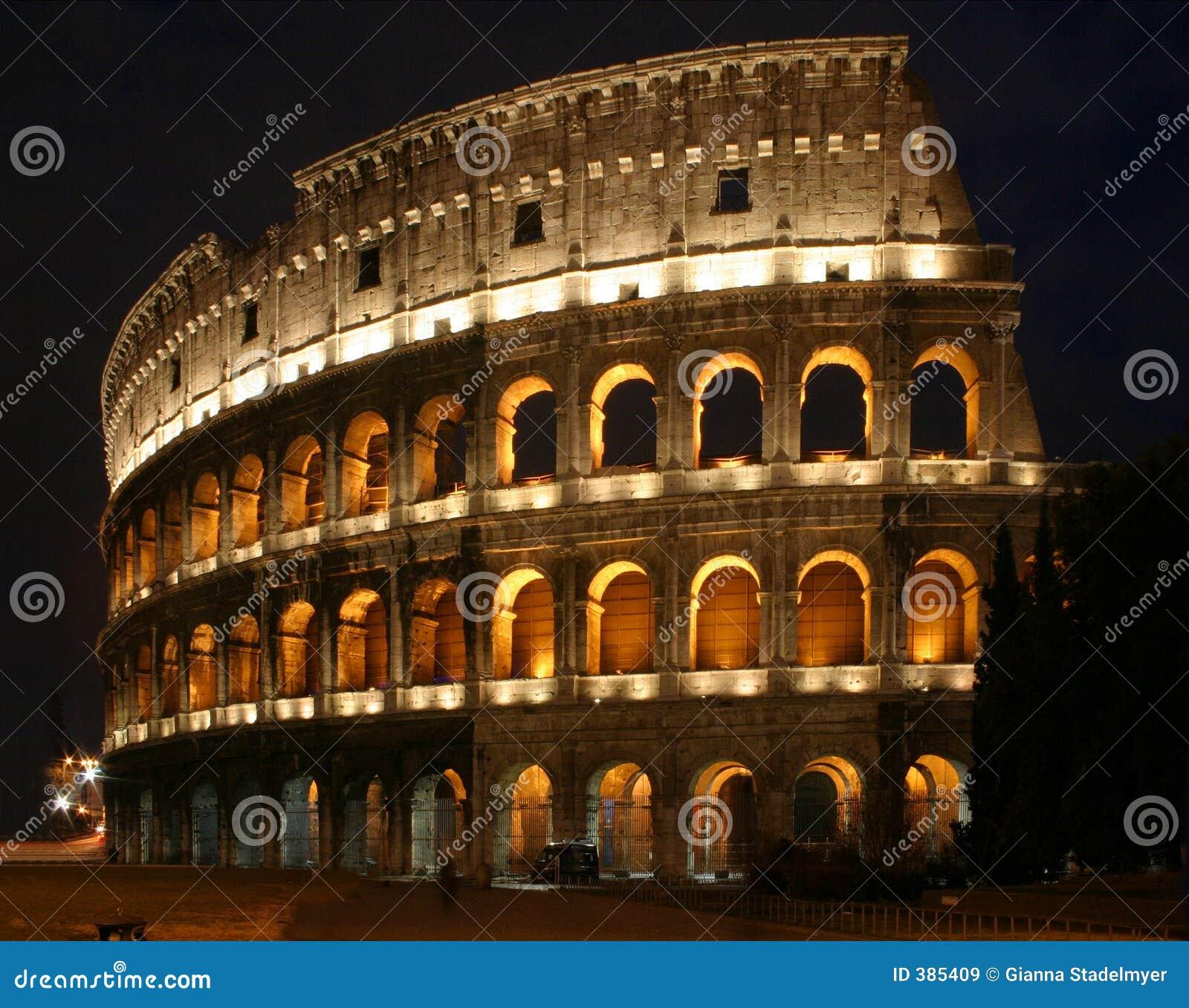 Coloseum la nuit