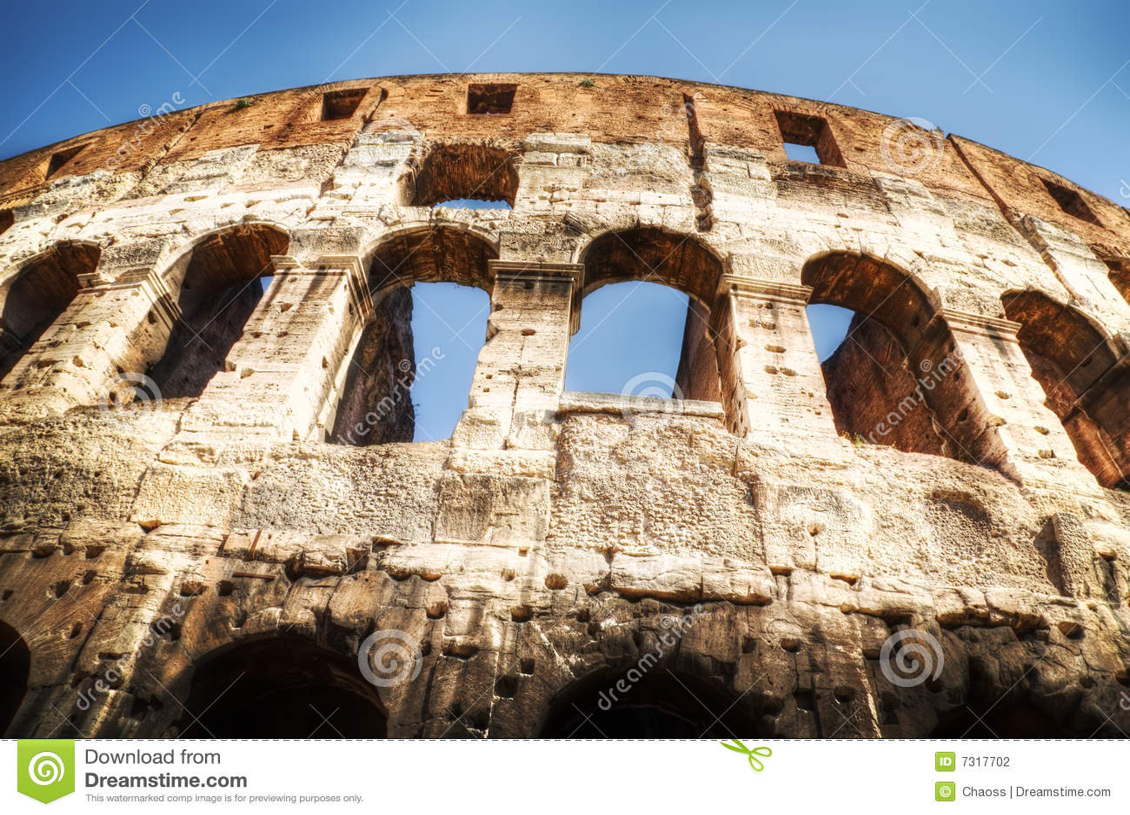 Colosseo a Roma Italia
