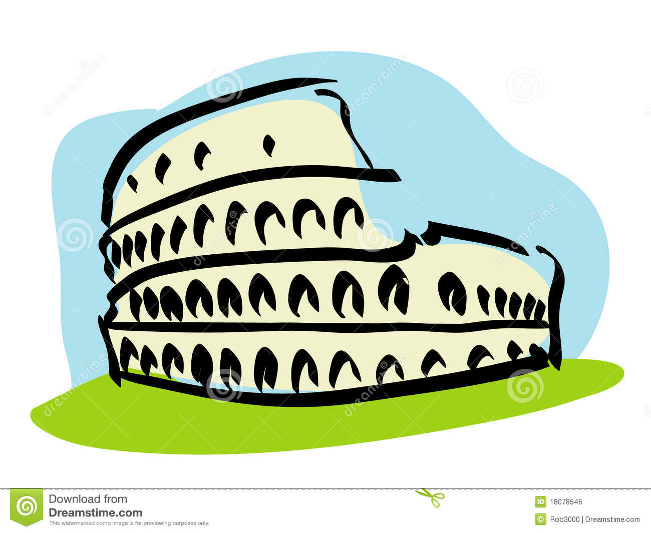 Colosseum Royalty Free Stock Image Image 18078546