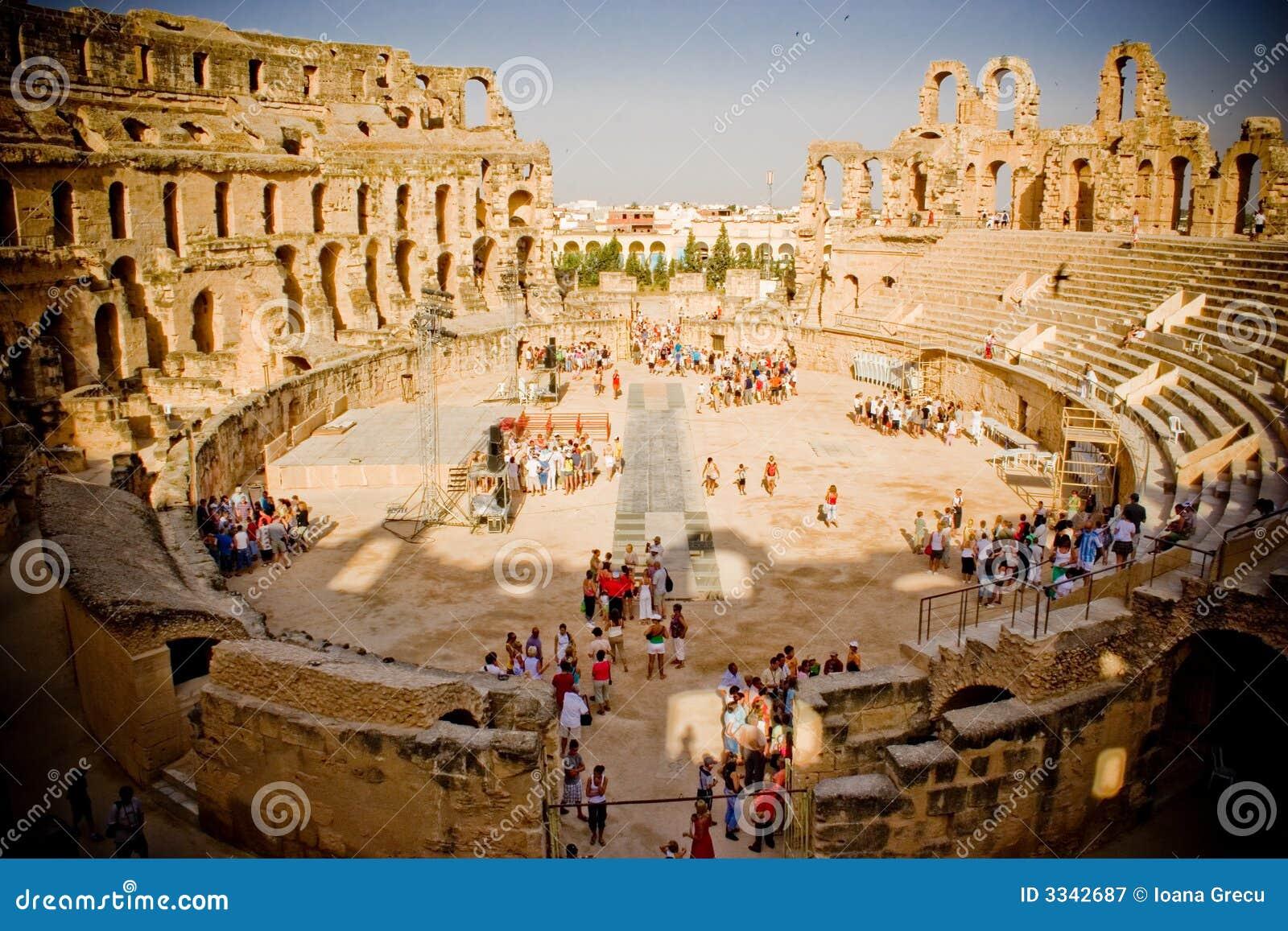 Colosseum, El Jem, Tunisia