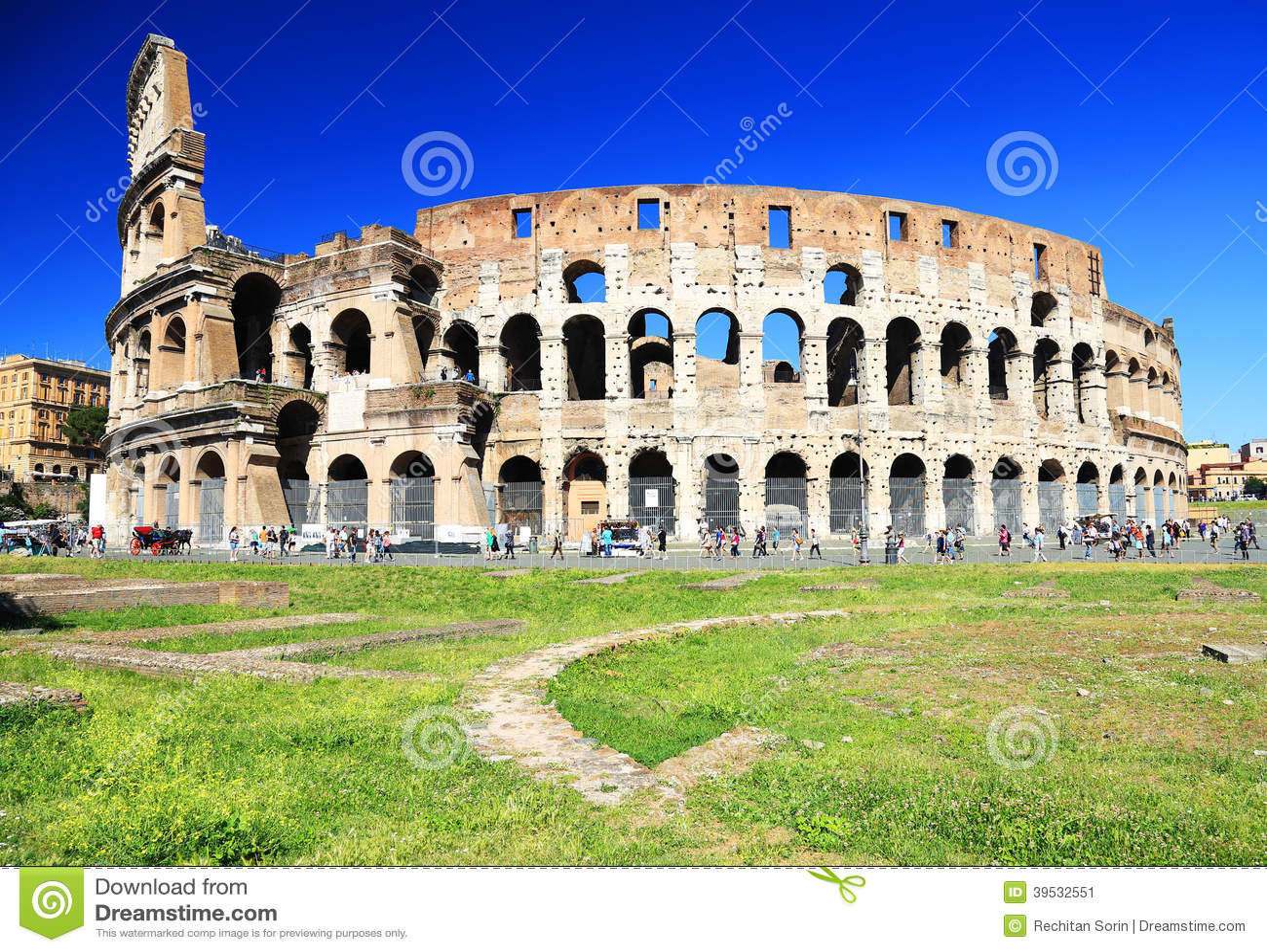 Colosseum en Roma
