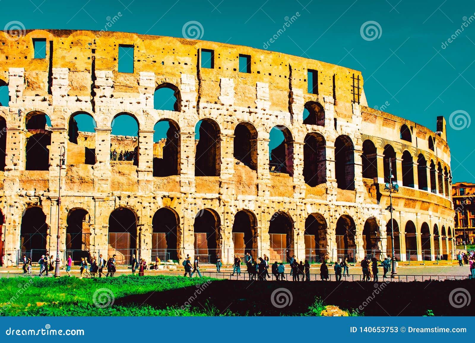 Colosseum Rome Seventh Wonders Of World