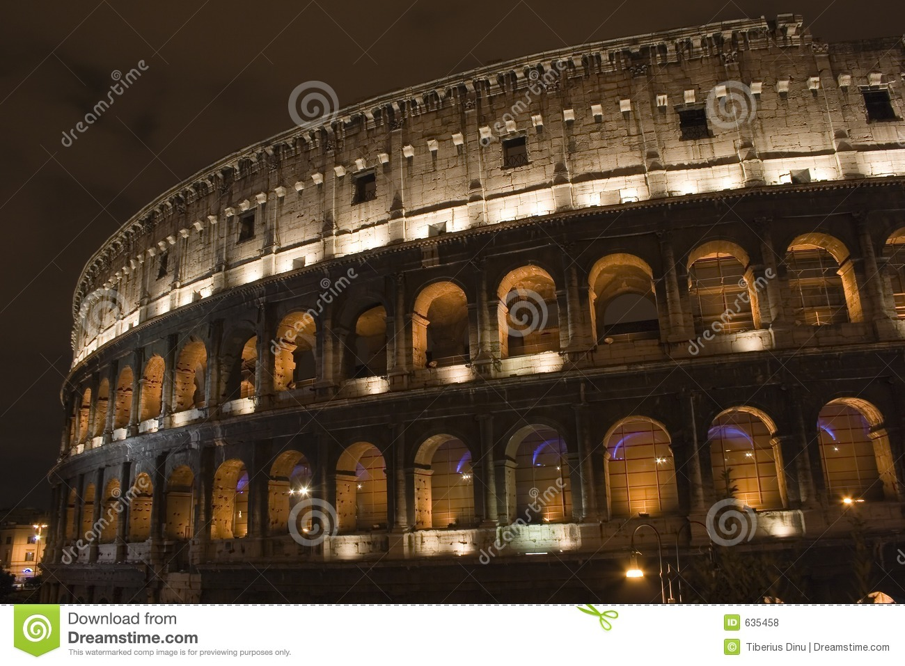 Colosseum By Night
