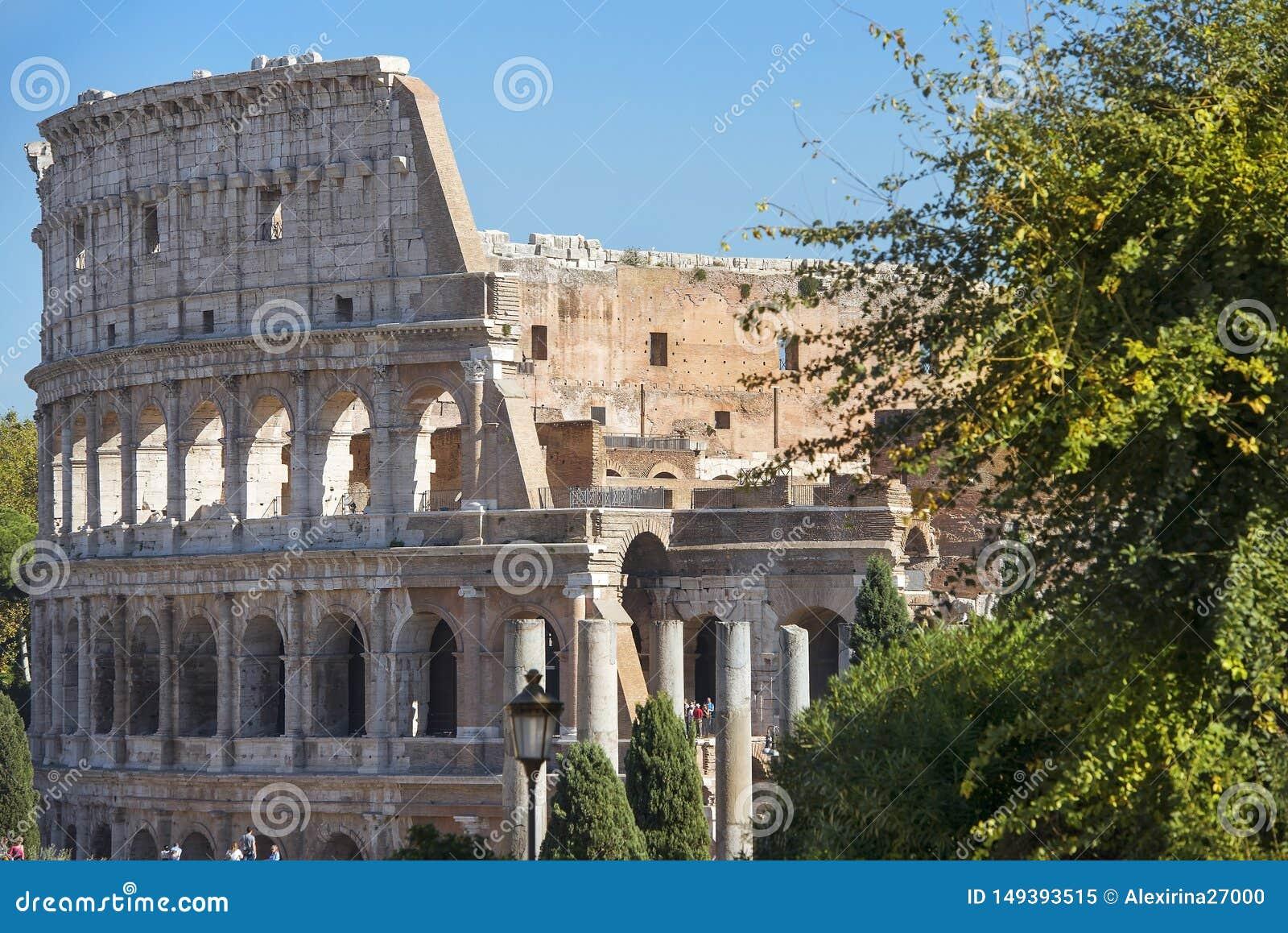 Colosseum o Colosseo a Roma, Italia