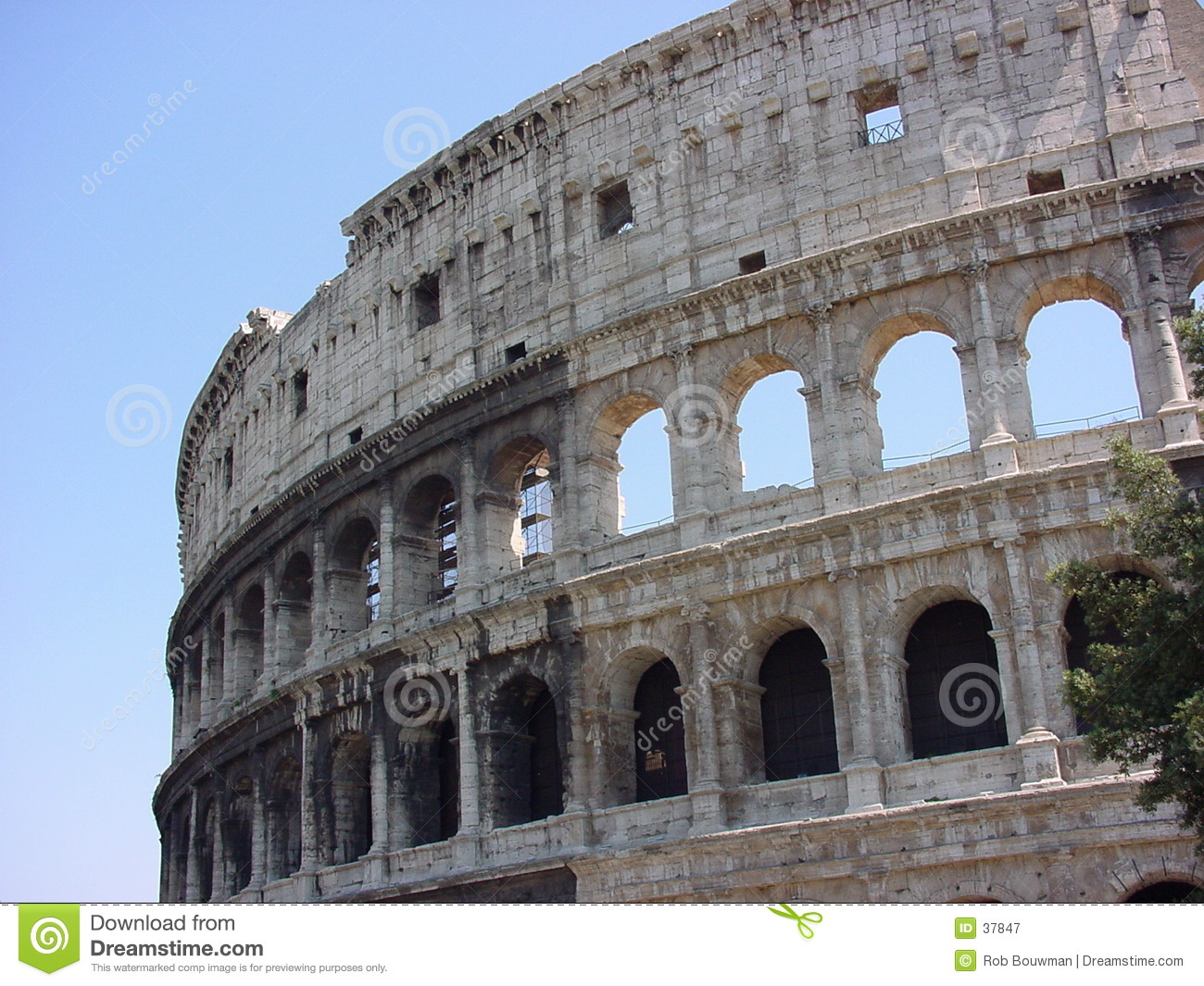 Download Colosseum Rom stockbild. Bild von reise, italien, europa - 37847