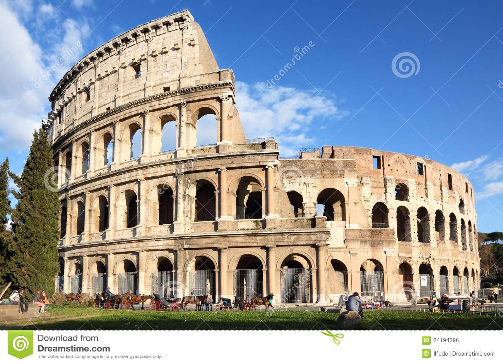 Colosseum in Rom, Italien