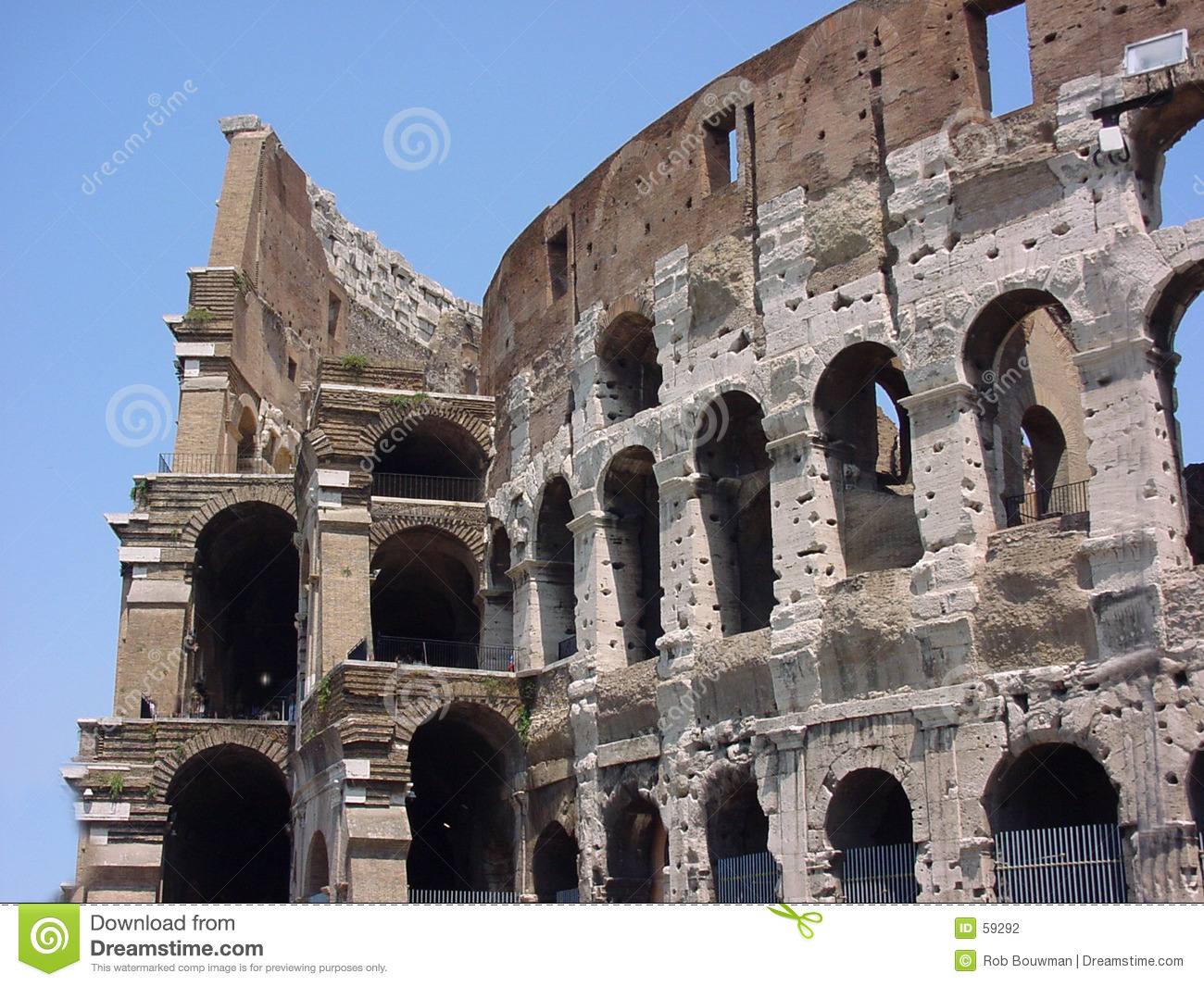Download Colosseum Rome Italie photo stock. Image du cercle, colosseum - 59292