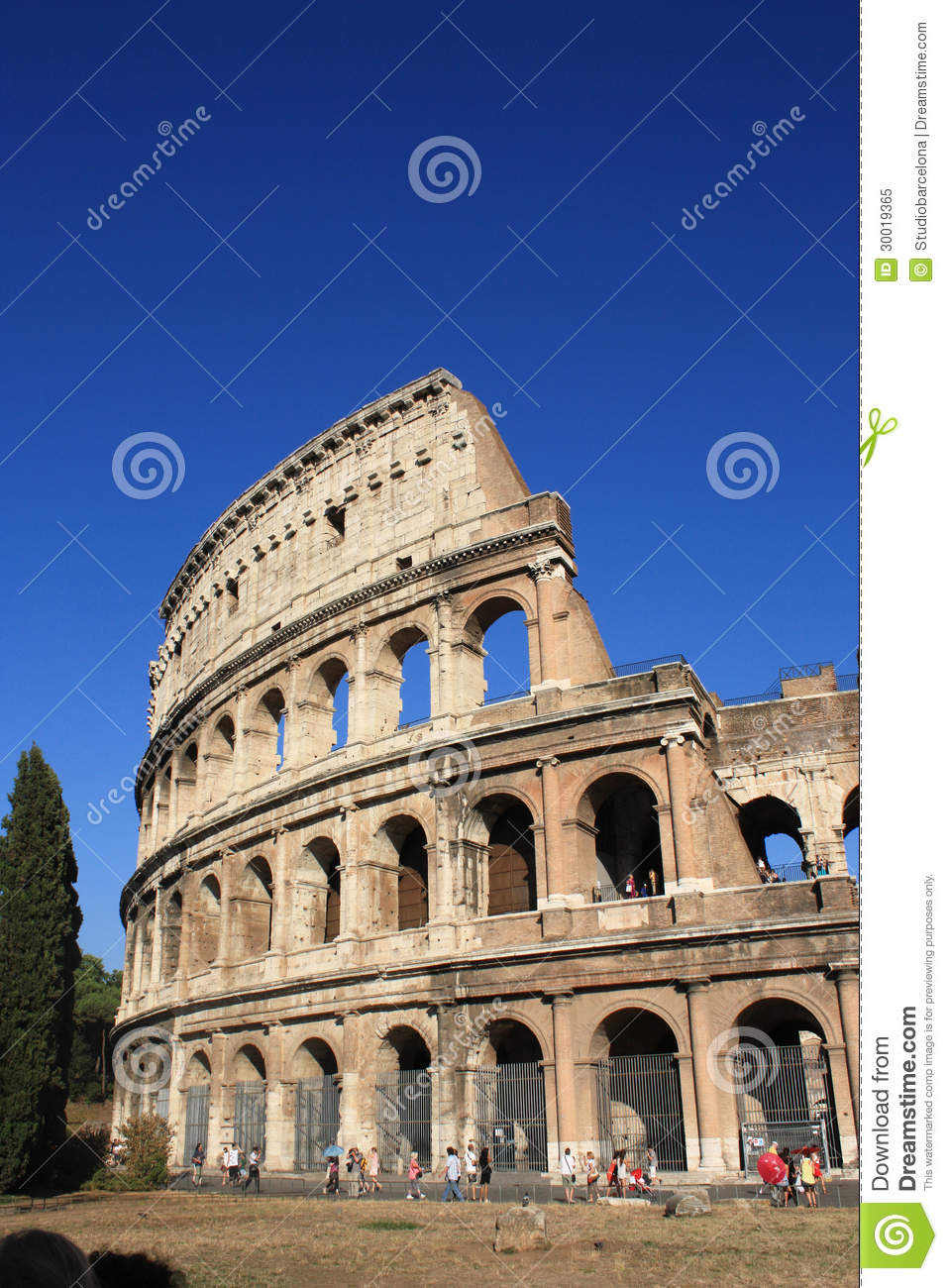 Colosseo In Rome Royalty Free Stock Photo Image 30019365