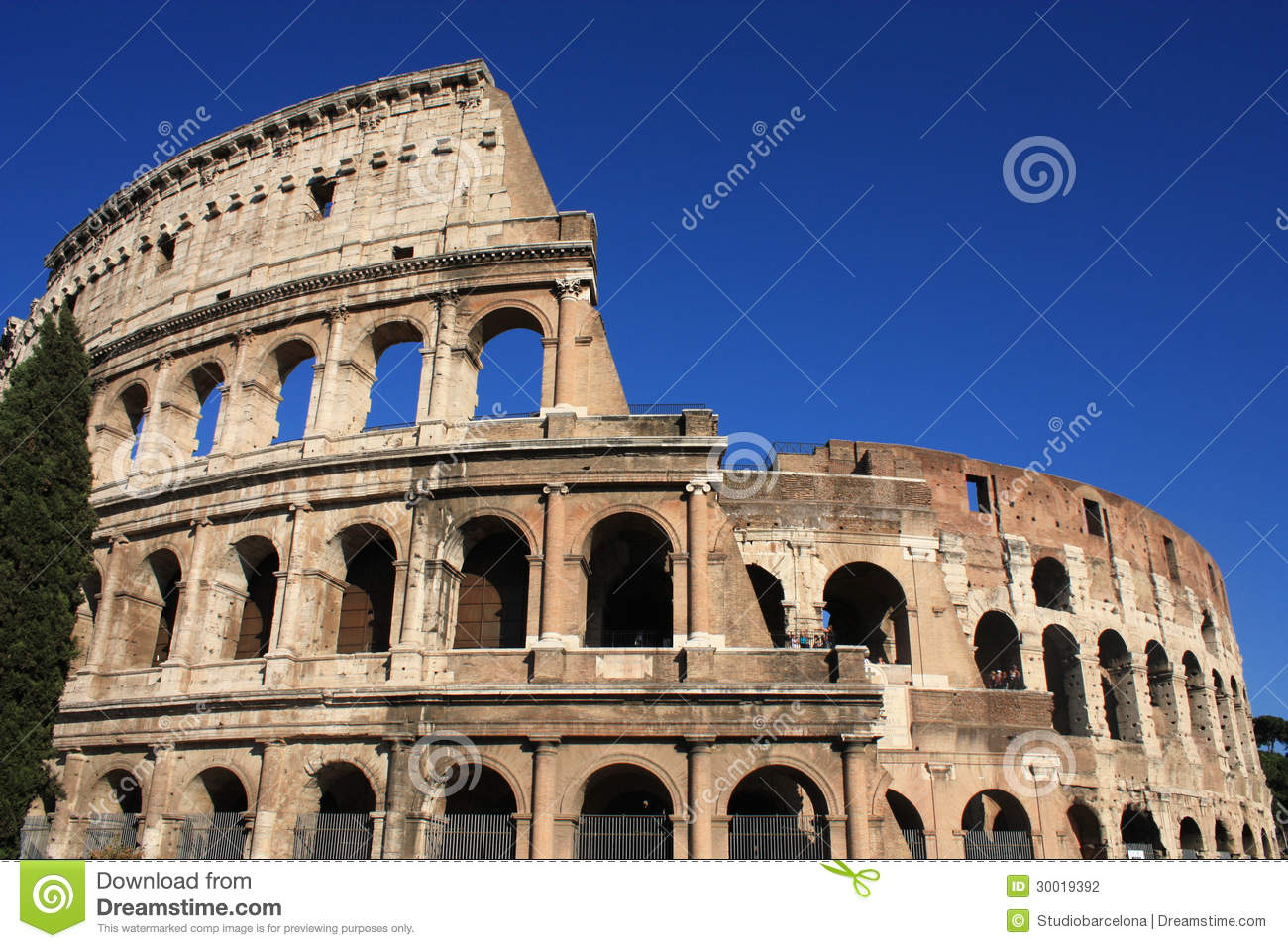 Colosseum In Rome Italy Ancient Architecture In Europe